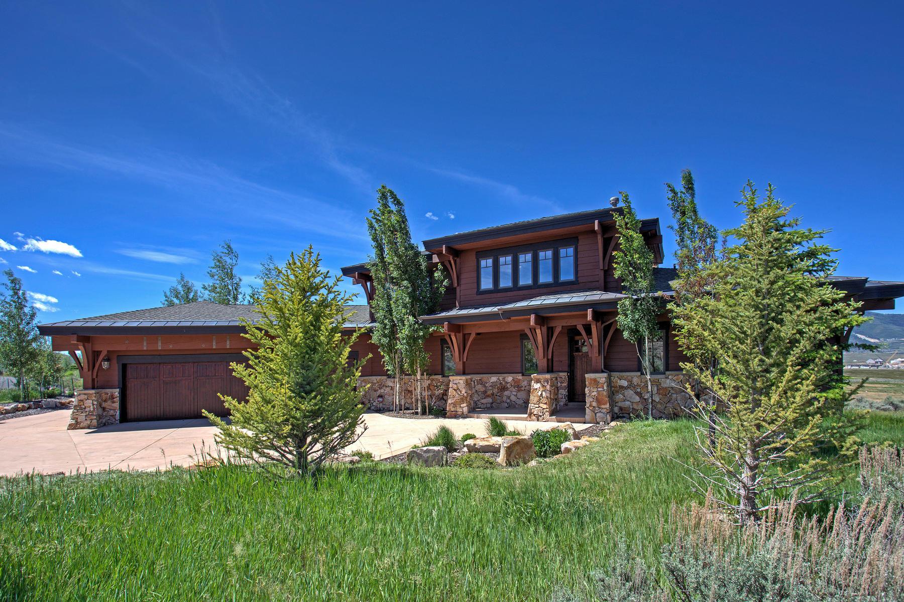Частный односемейный дом для того Продажа на Location, Views, Furnishings & Membership Deposit All Included 7342 N Westview Draw Park City, Юта, 84098 Соединенные Штаты