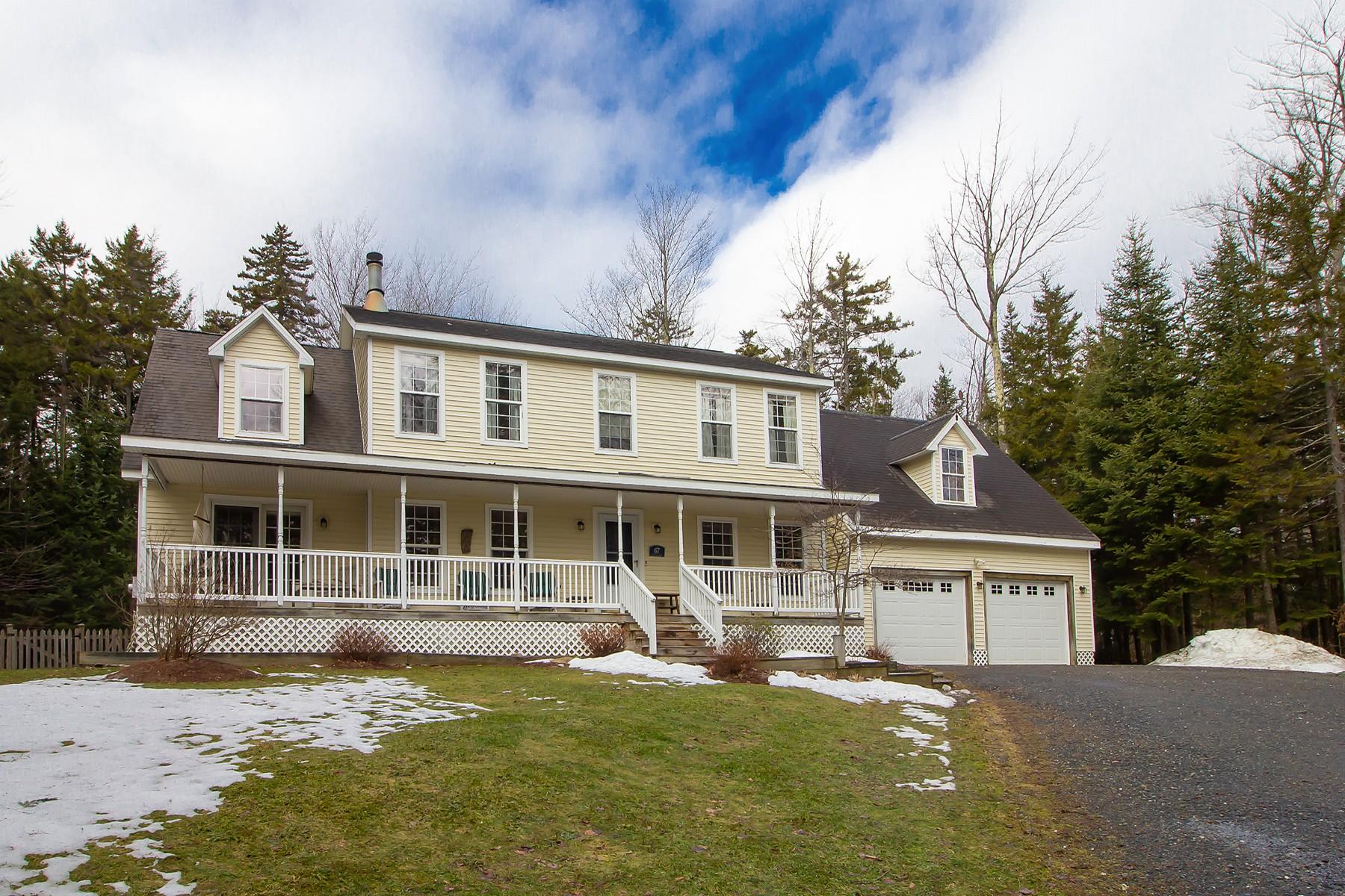 Single Family Homes for Sale at 67 Stugger Road, Dover 67 Stugger Rd Dover, Vermont 05356 United States