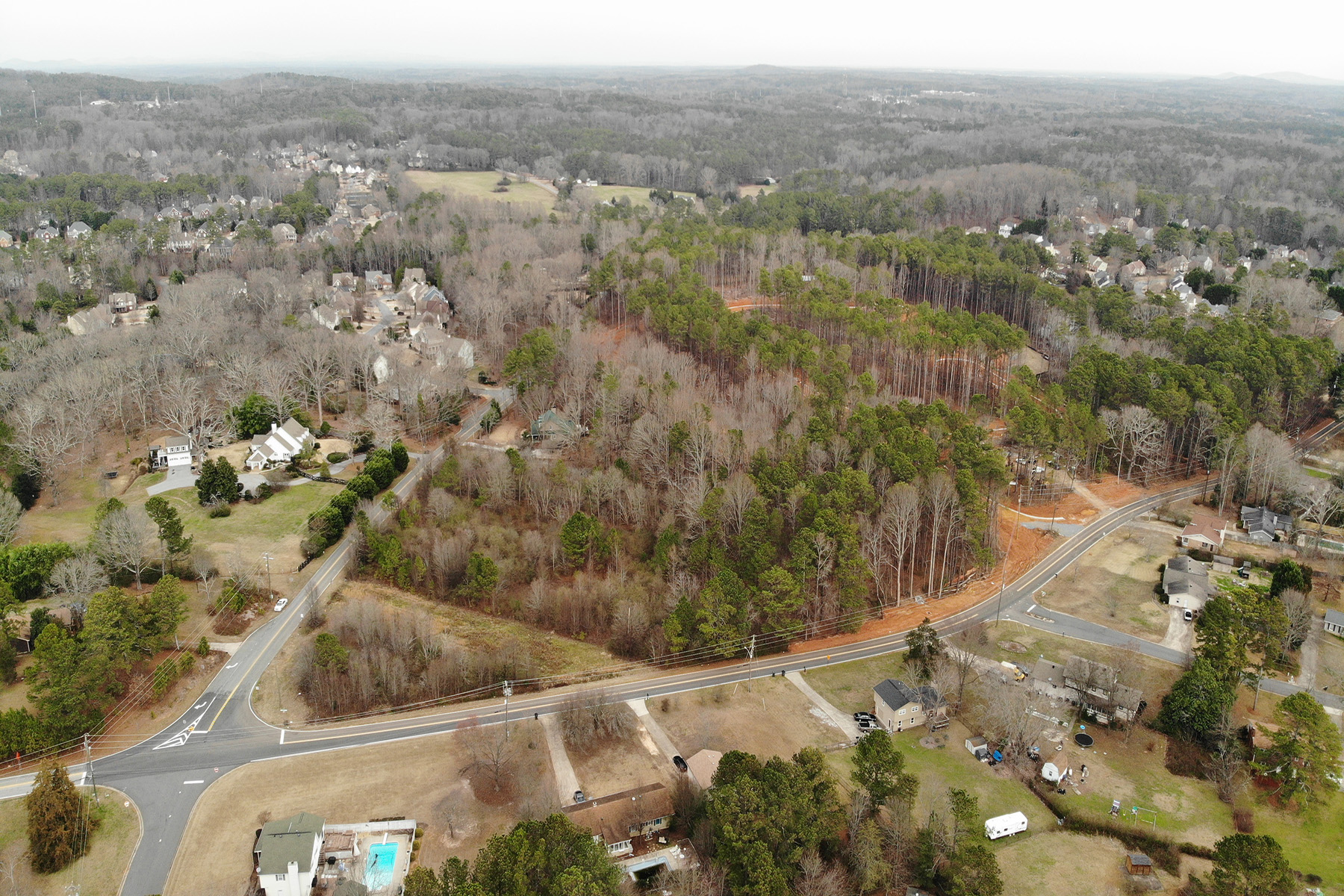 Land for Sale at 3.8 +/- Private Acres To Build Your New Home 0 Midway Road Powder Springs, Georgia 30127 United States