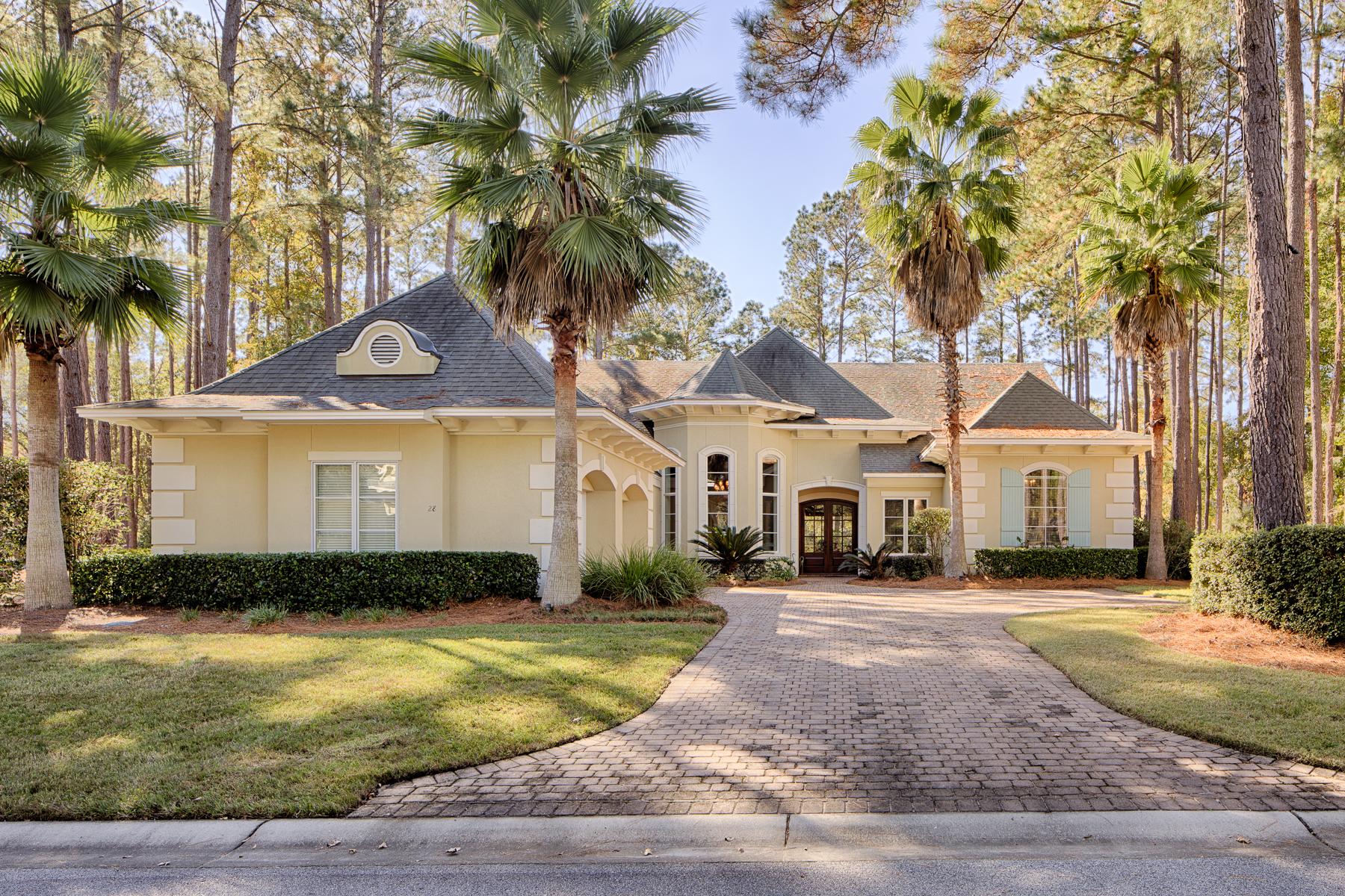 Частный односемейный дом для того Продажа на 28 Bellereve Drive Okatie, Южная Каролина, 29909 Соединенные Штаты