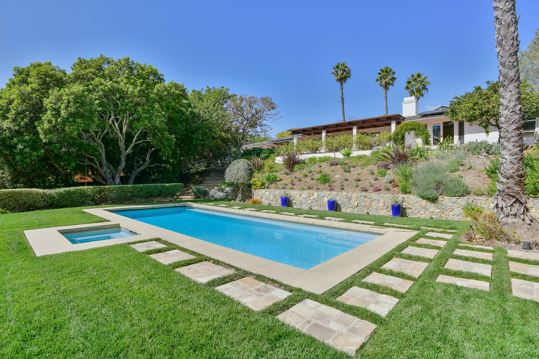 獨棟家庭住宅 為 出售 在 5815 Loma Verde Drive Rancho Santa Fe, 加利福尼亞州, 92067 美國