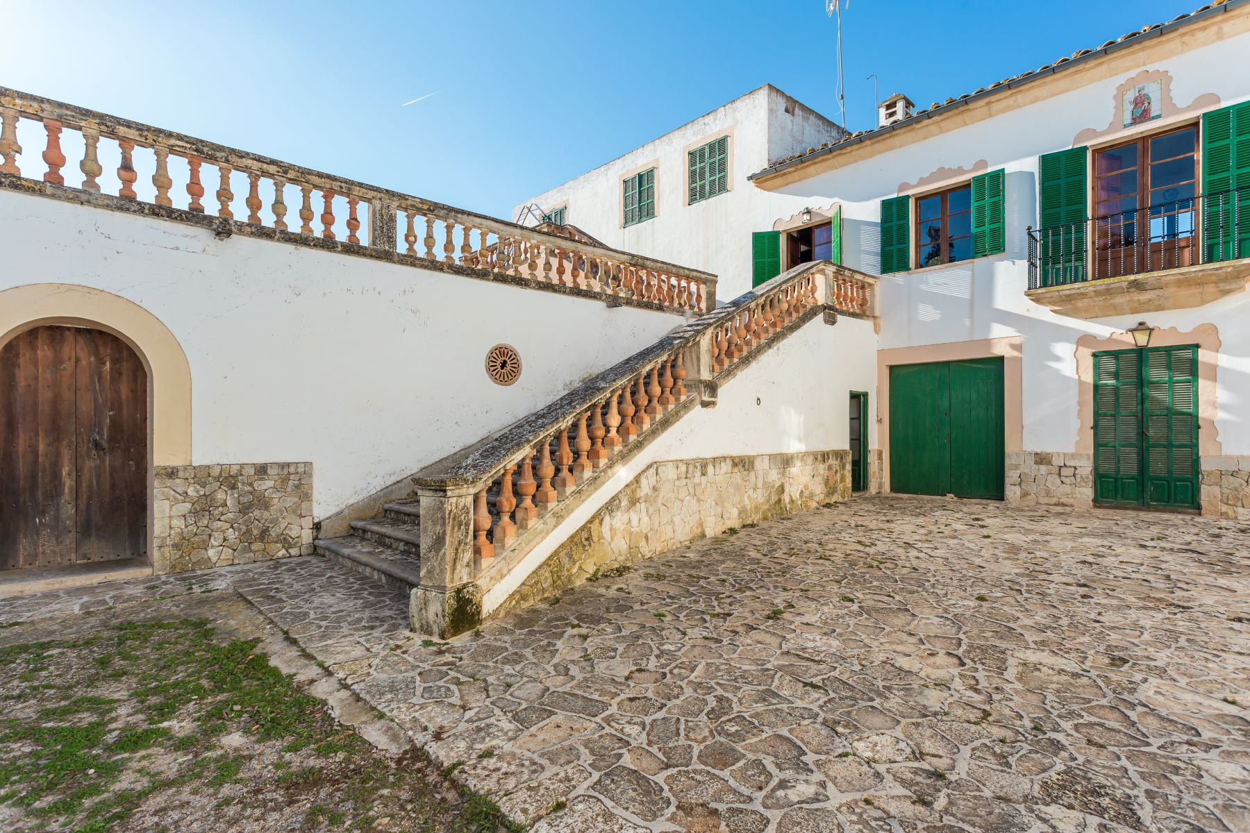 Single Family Home for Sale at Large stately property with great potential Maria de la Salut, Balearic Islands, Spain