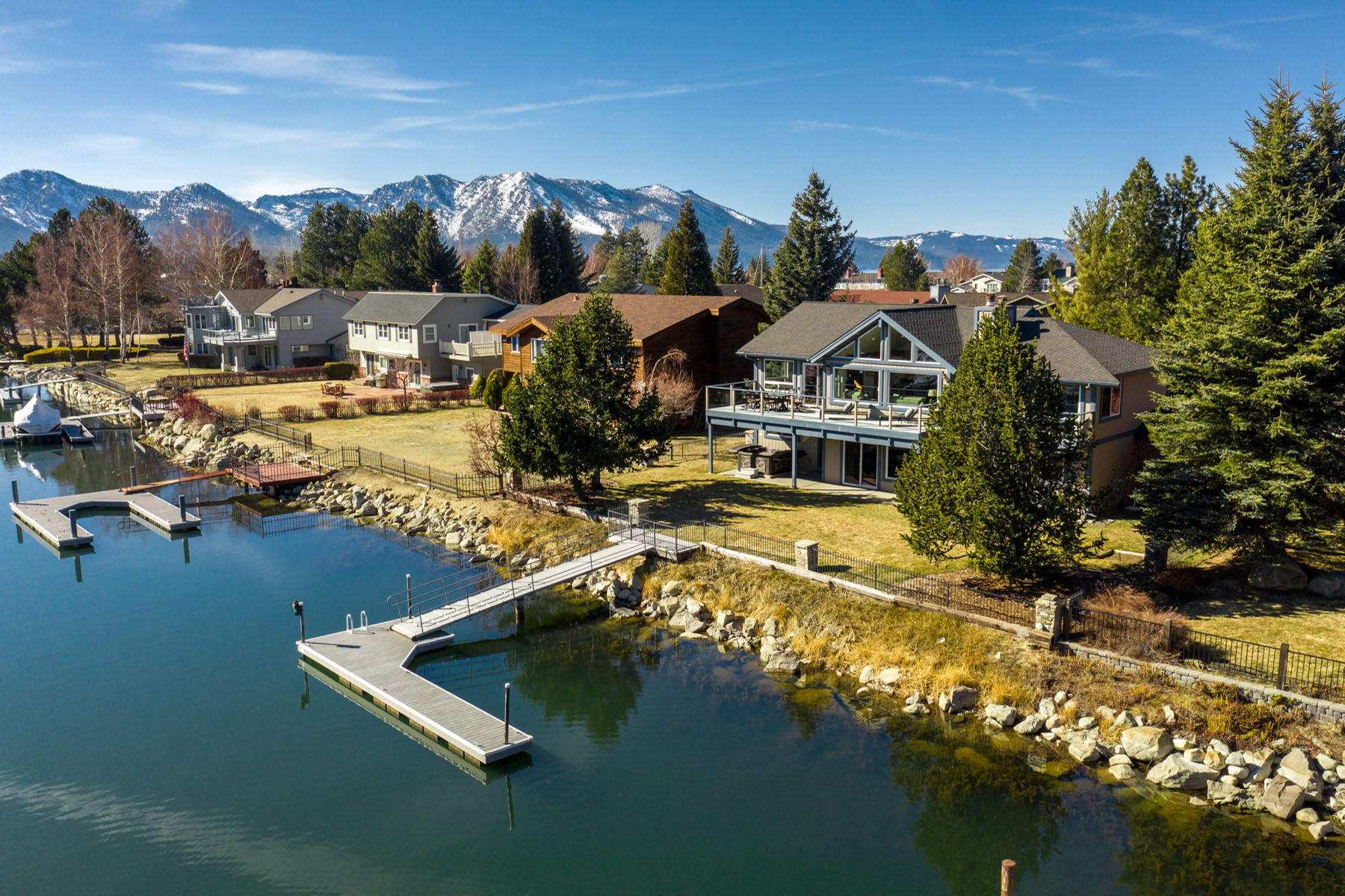 Single Family Homes for Active at On the Water Tahoe Style 2188 White Sands Drive South Lake Tahoe, California 96150 United States