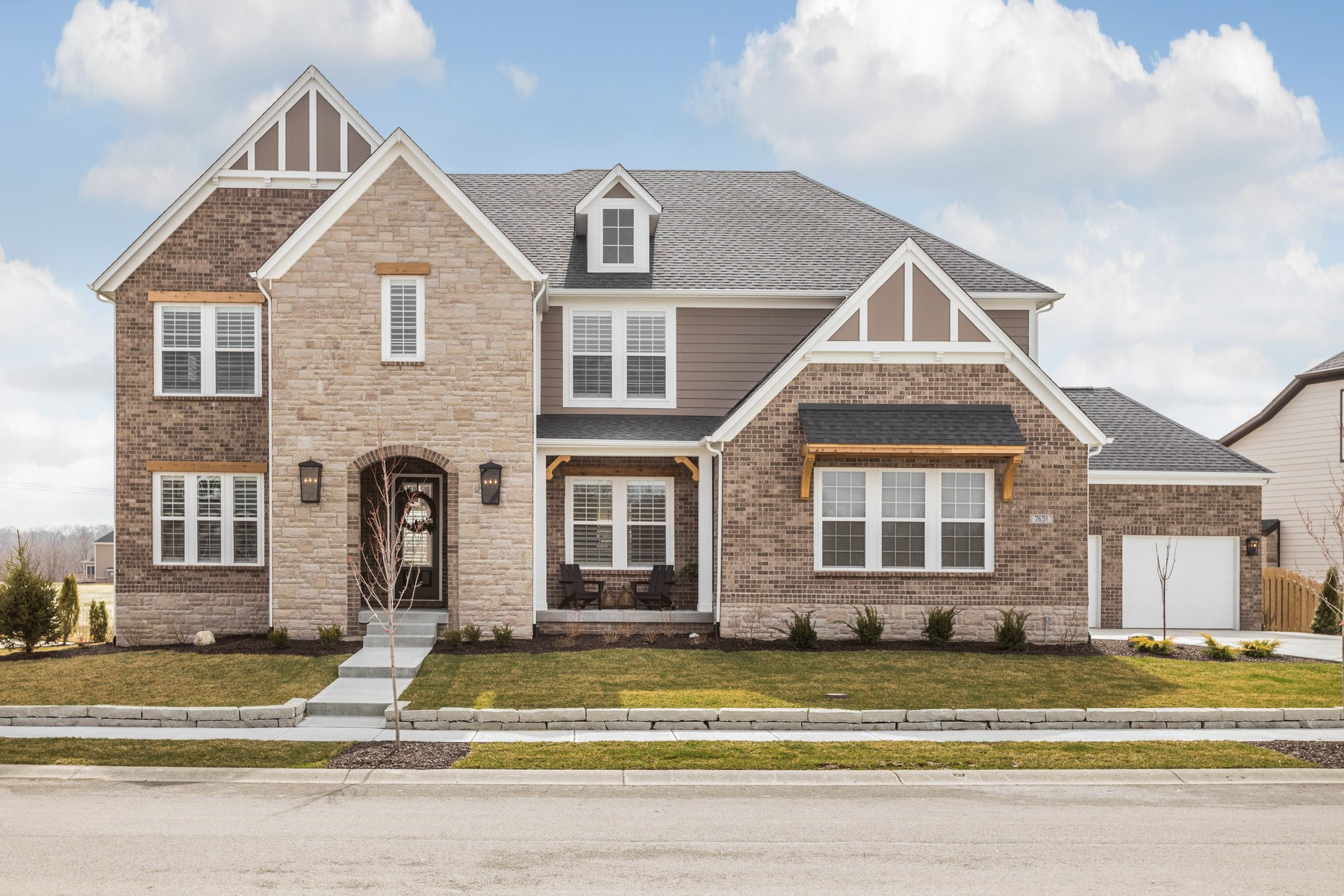 Single Family Homes for Active at Luxury Living in Stonegate 7651 Deerfield Way Zionsville, Indiana 46077 United States