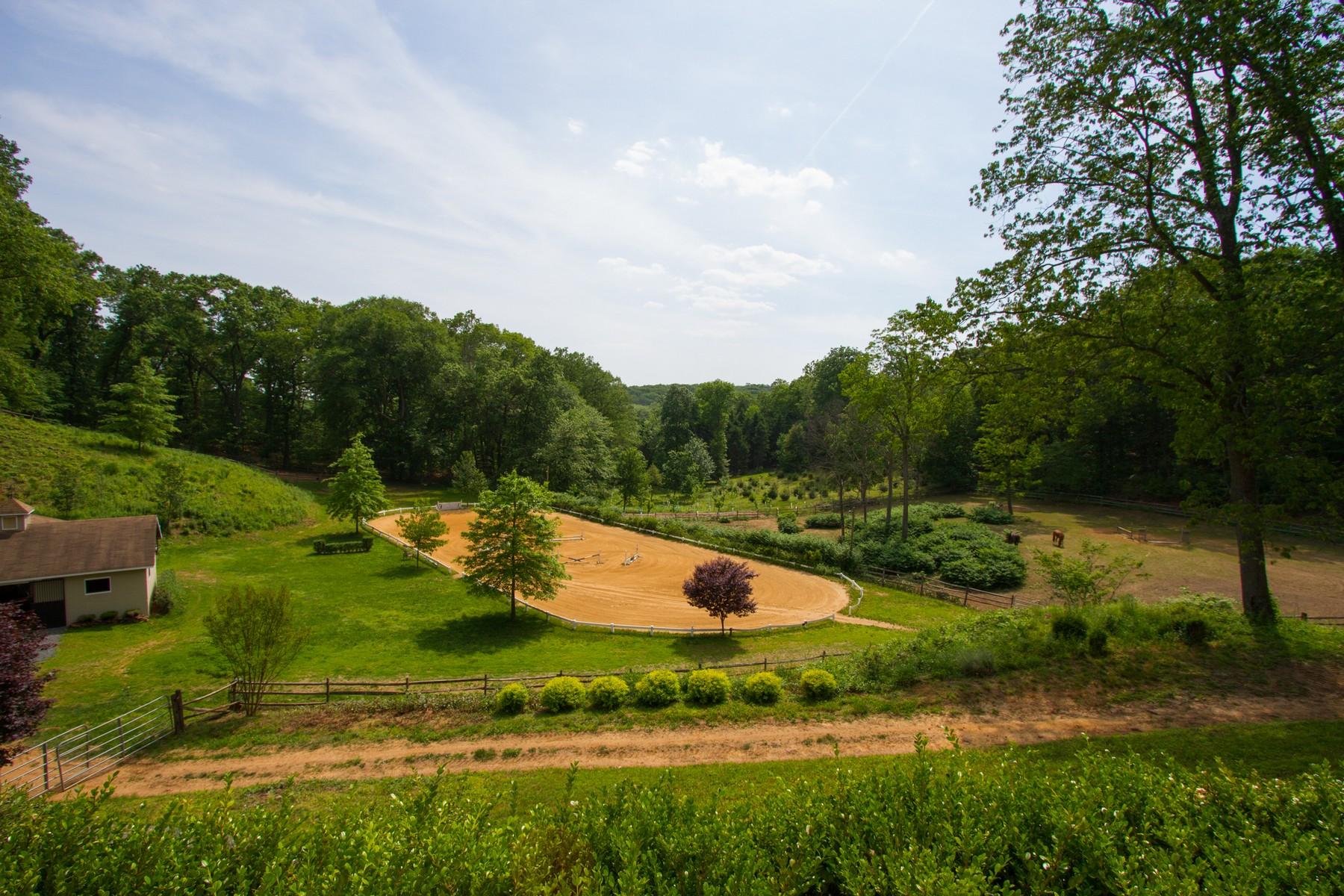 Fazenda / Quinta / Rancho / Plantação para Venda às Equestrian Estate 16 Browns Ln Atlantic Highlands, Nova Jersey 07716 Estados Unidos