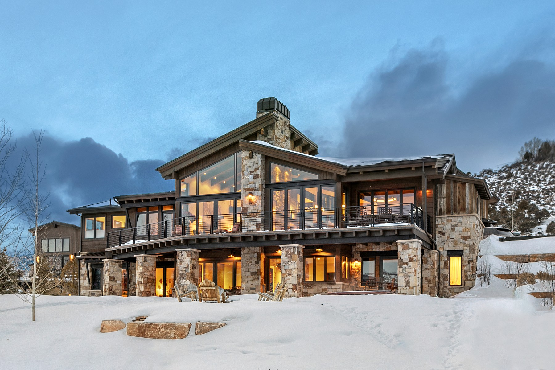 Single Family Homes for Sale at Stunning mountain contemporary residence 1800 Beard Creek Edwards, Colorado 81632 United States