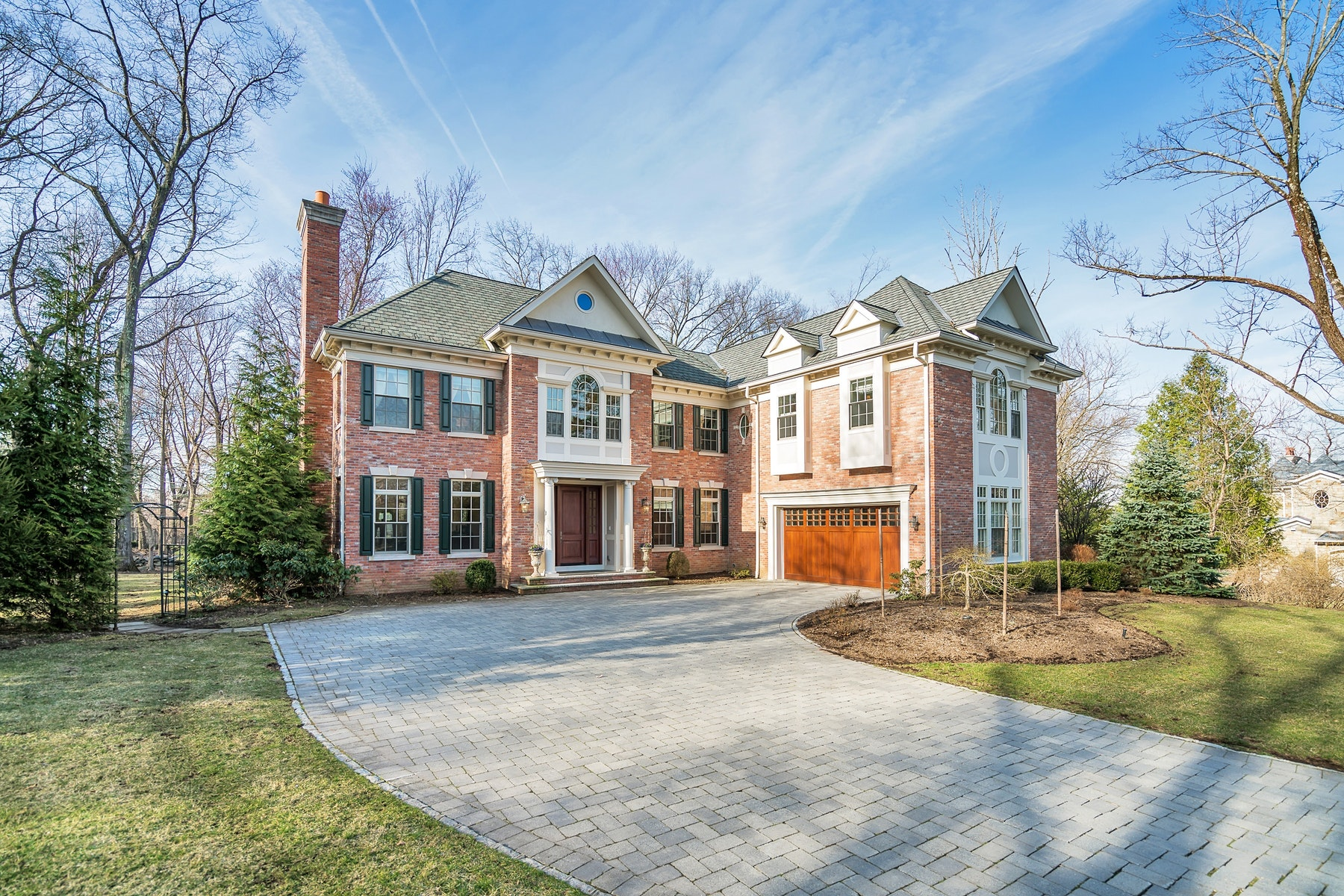 Single Family Homes for Sale at Inspiring 16 Old Woods Road Saddle River, New Jersey 07458 United States