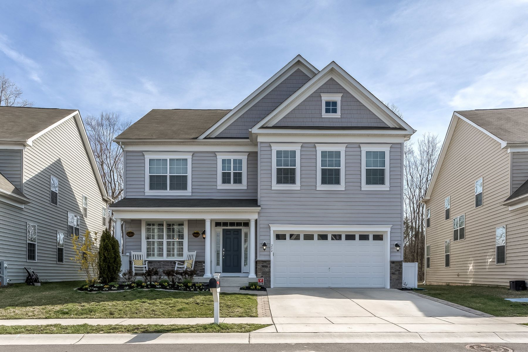 single family homes for Active at Creekside at Osprey Land 254 Saltgrass Drive Glen Burnie, Maryland 21060 United States