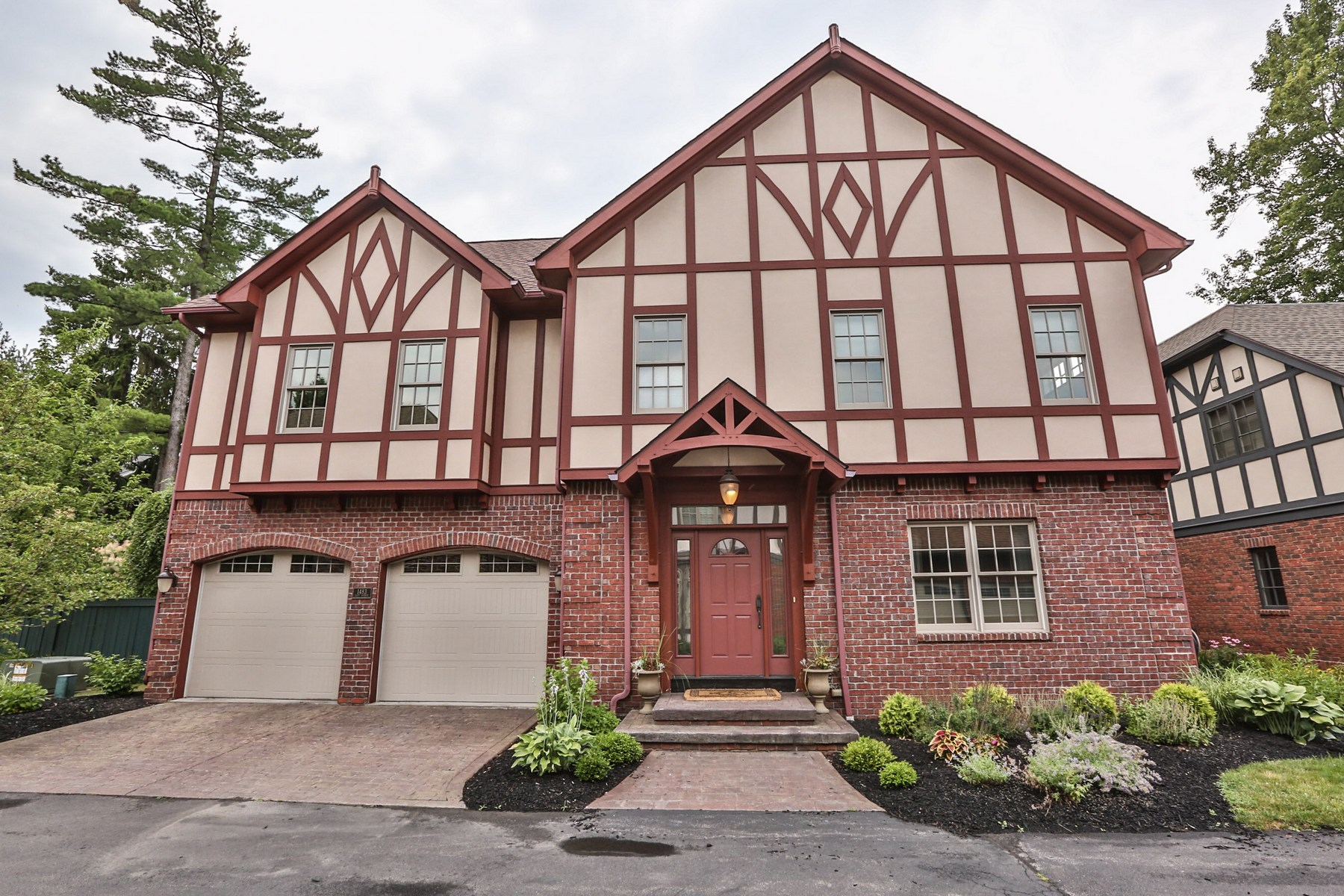 Single Family Home for Sale at Elegant Town Home in the Tudors on East! 1483 East Ave Ave Rochester, New York 14610 United States