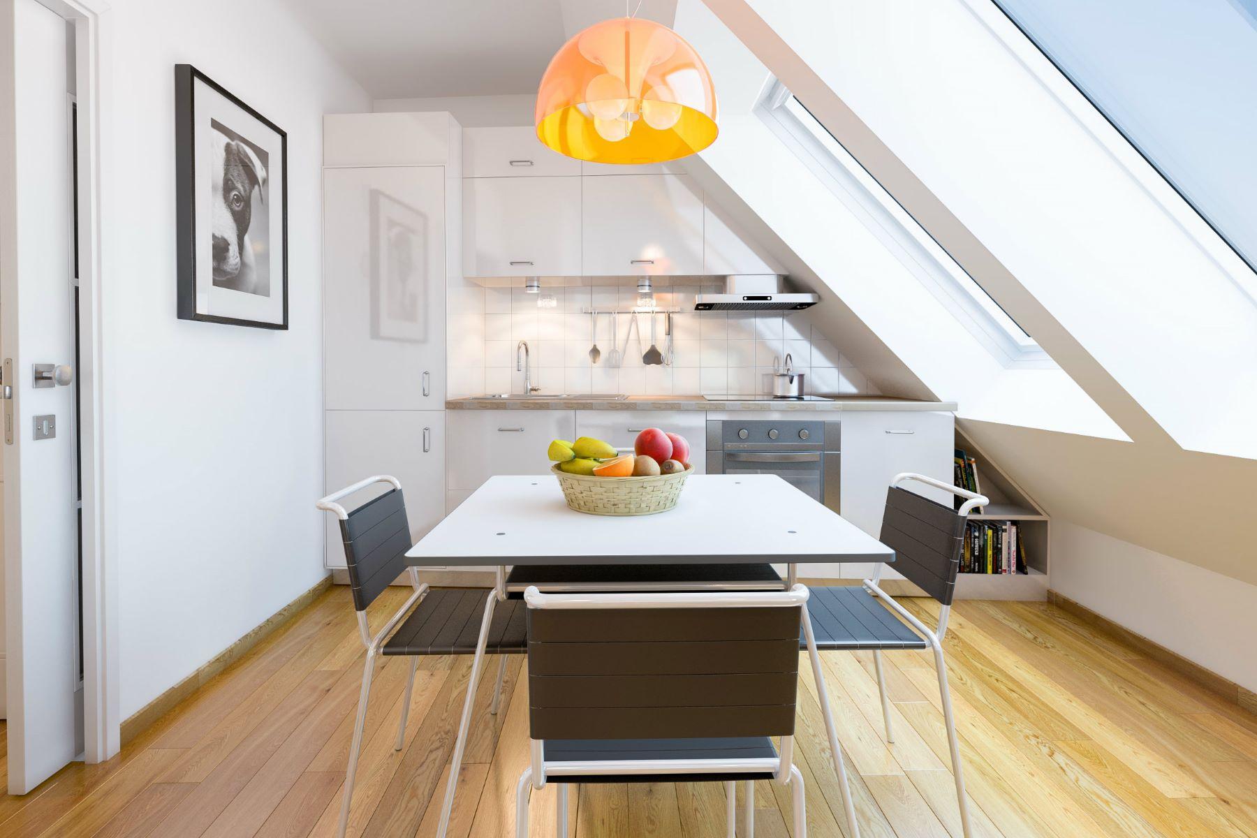 Apartamento por un Venta en ADORABLE 3 BED MAISONETTE Vienna, Vienna, 1050 Austria