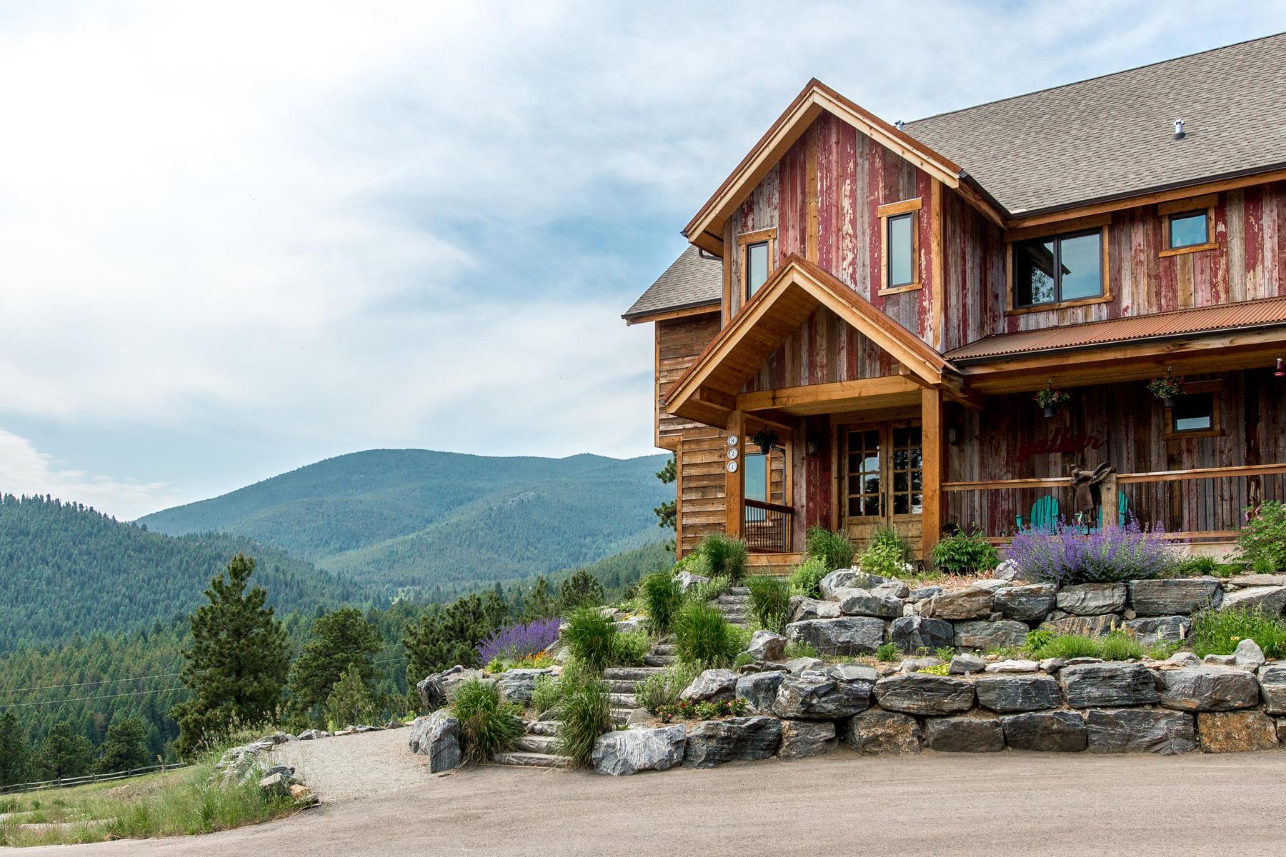 Single Family Home for Active at Custom Built Mountain Retreat 871 Hacienda Road Evergreen, Colorado 80439 United States