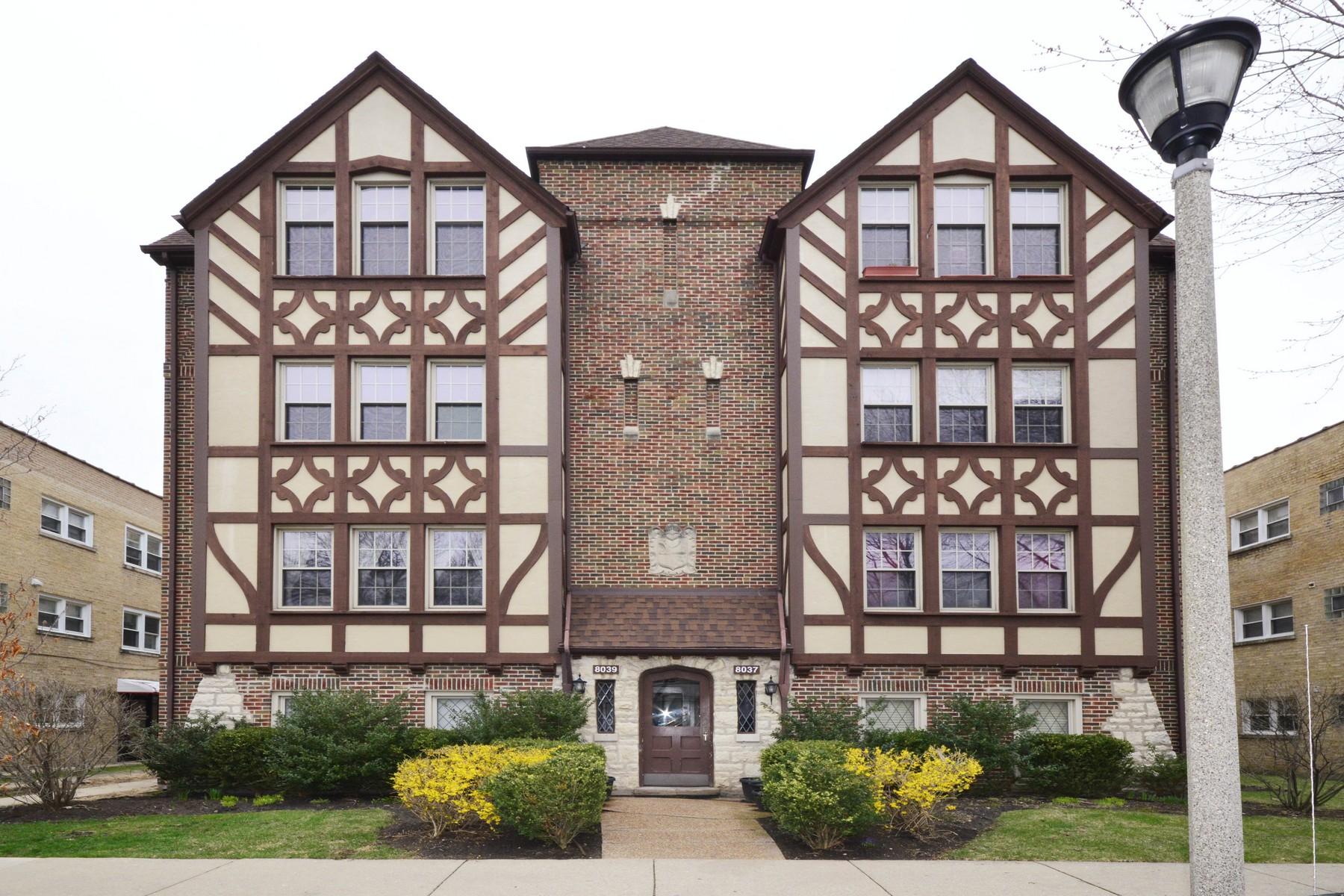 Piso por un Venta en Vintage Condo in Heart of Downtown Skokie 8039 Kenton Avenue Unit 3N Skokie, Illinois, 60076 Estados Unidos