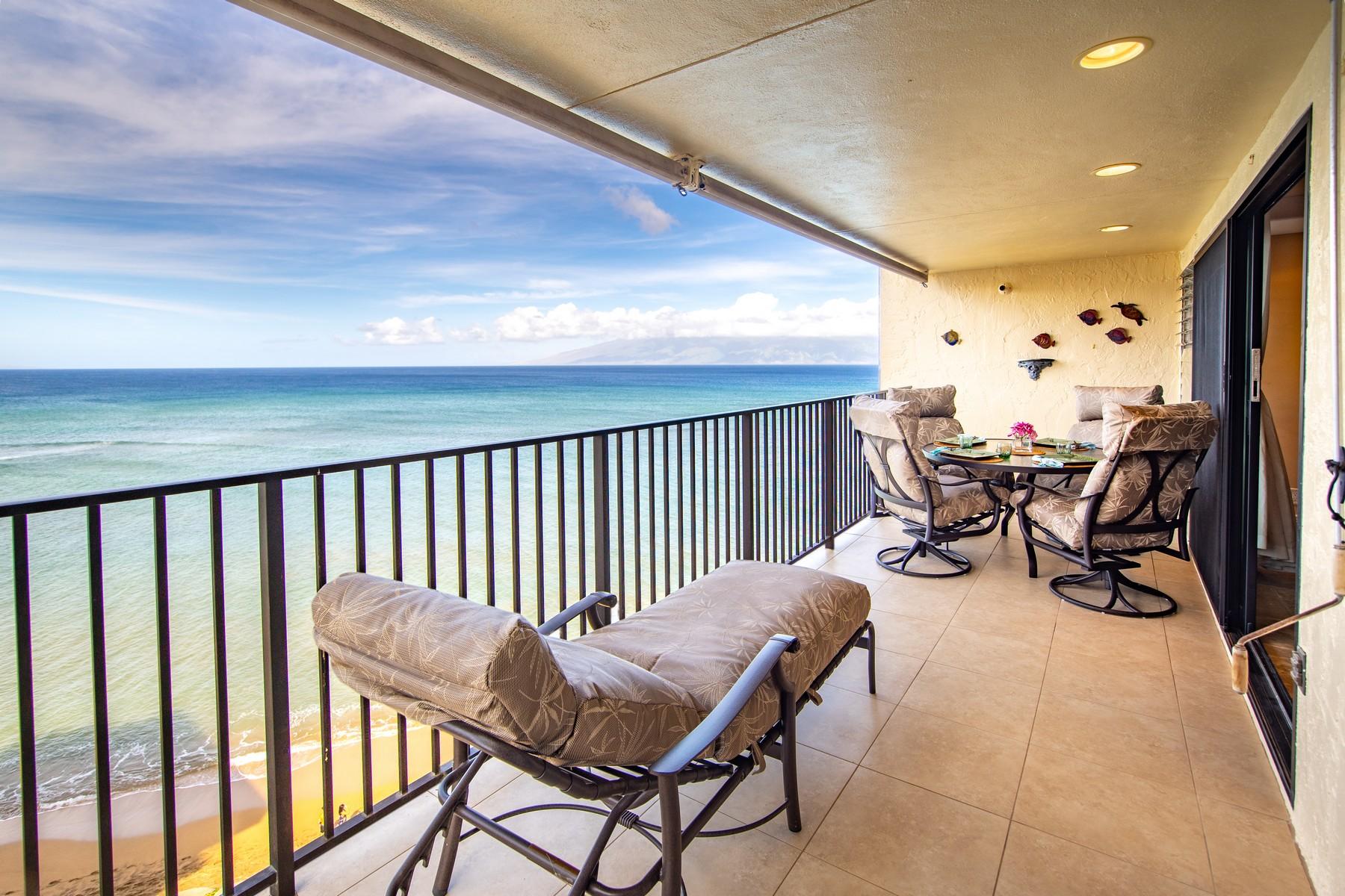 Condominiums 為 出售 在 Million Dollar View Penthouse 4401 Lower Honoapiilani Rd, Kahana, 夏威夷 96761 美國