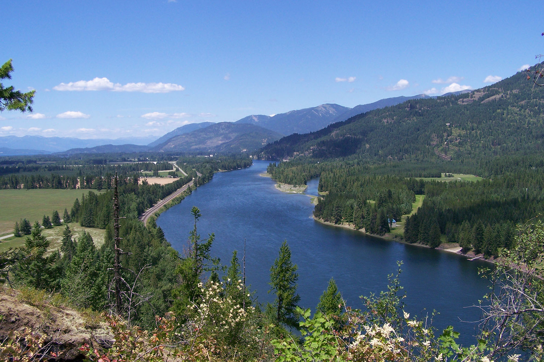 Land for Sale at Castle Rock on River Road NNA River Rd, Clark Fork, Idaho, 83811 United States