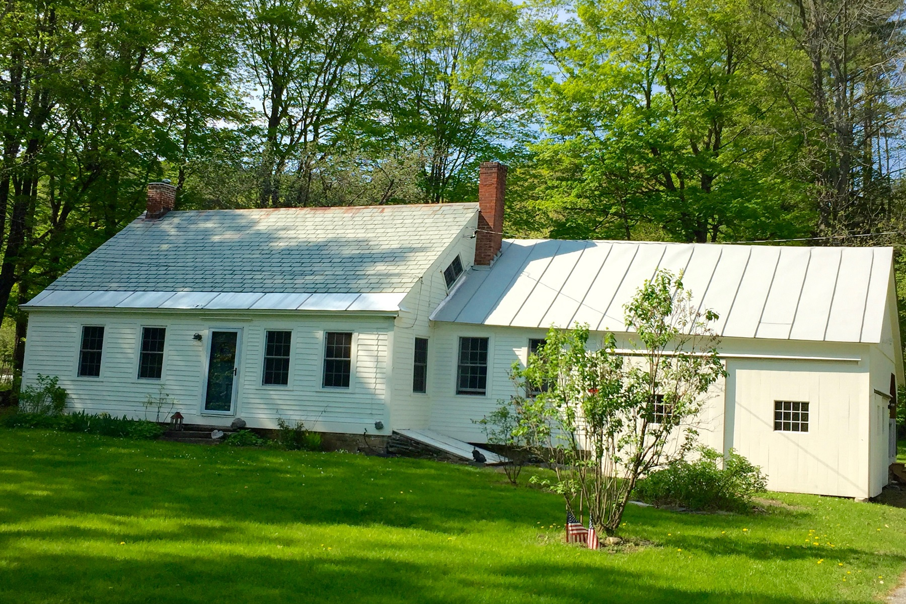 single family homes for Sale at Charming Antique Cape 192 Flat Iron Road Reading, Vermont 05062 United States