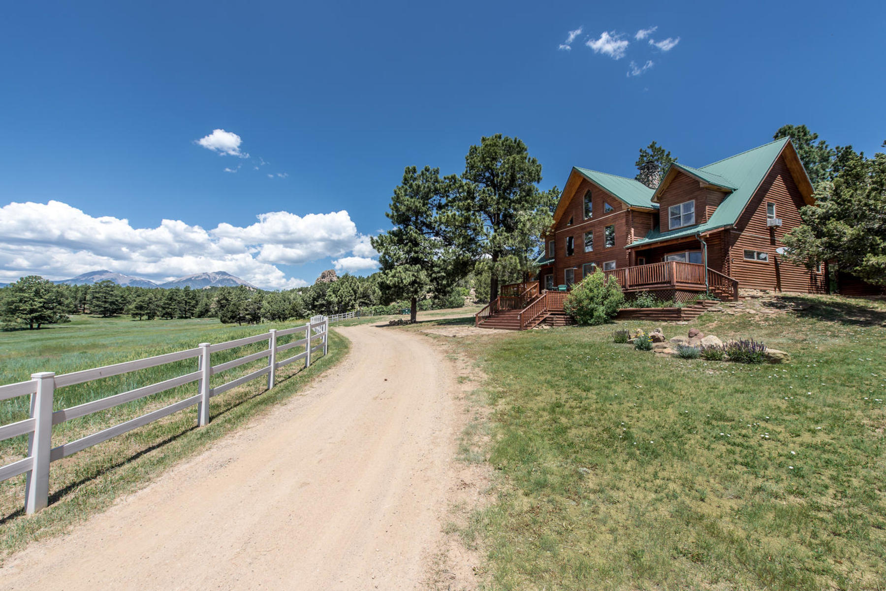 Farm / Ranch / Plantation for Active at Dulce Villa Ranch 24030 County Road 43.6 Aguilar, Colorado 81020 United States