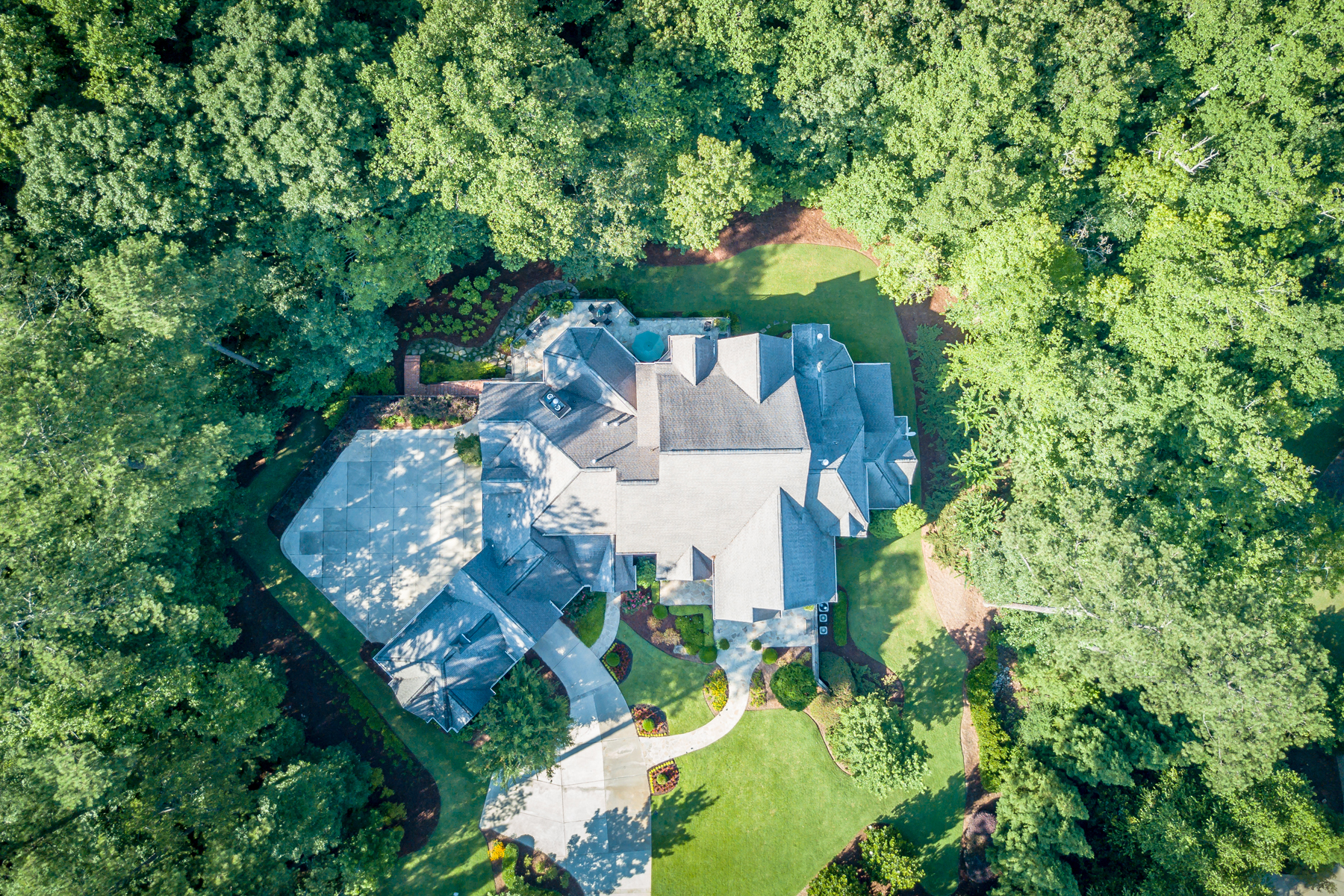 Additional photo for property listing at Unprecedented Privacy On An Estate Lot 3125 Manor Bridge Drive, Milton, ジョージア 30004 アメリカ