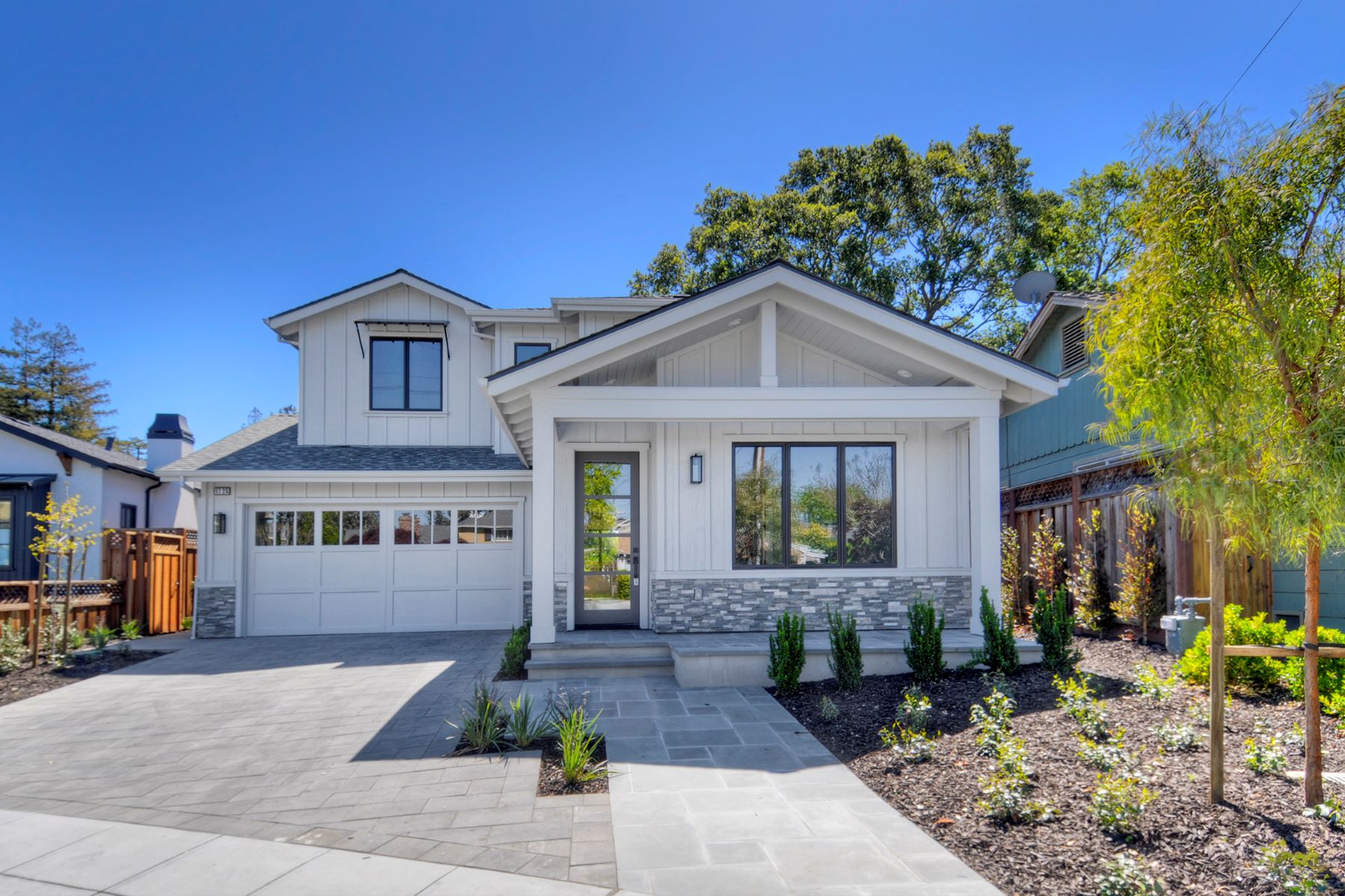 Single Family Homes for Sale at Brand New Construction in White Oaks! 1725 Eaton Avenue San Carlos, California 94070 United States