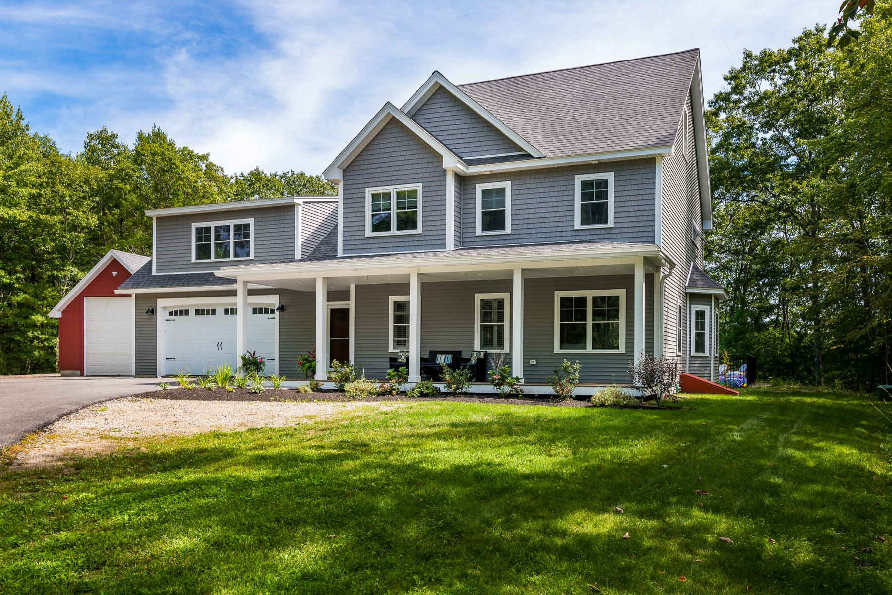 Single Family Homes for Sale at Custom Built Colonial Close to Beaches & Shops 12 Haley Road Arundel, Maine 04046 United States