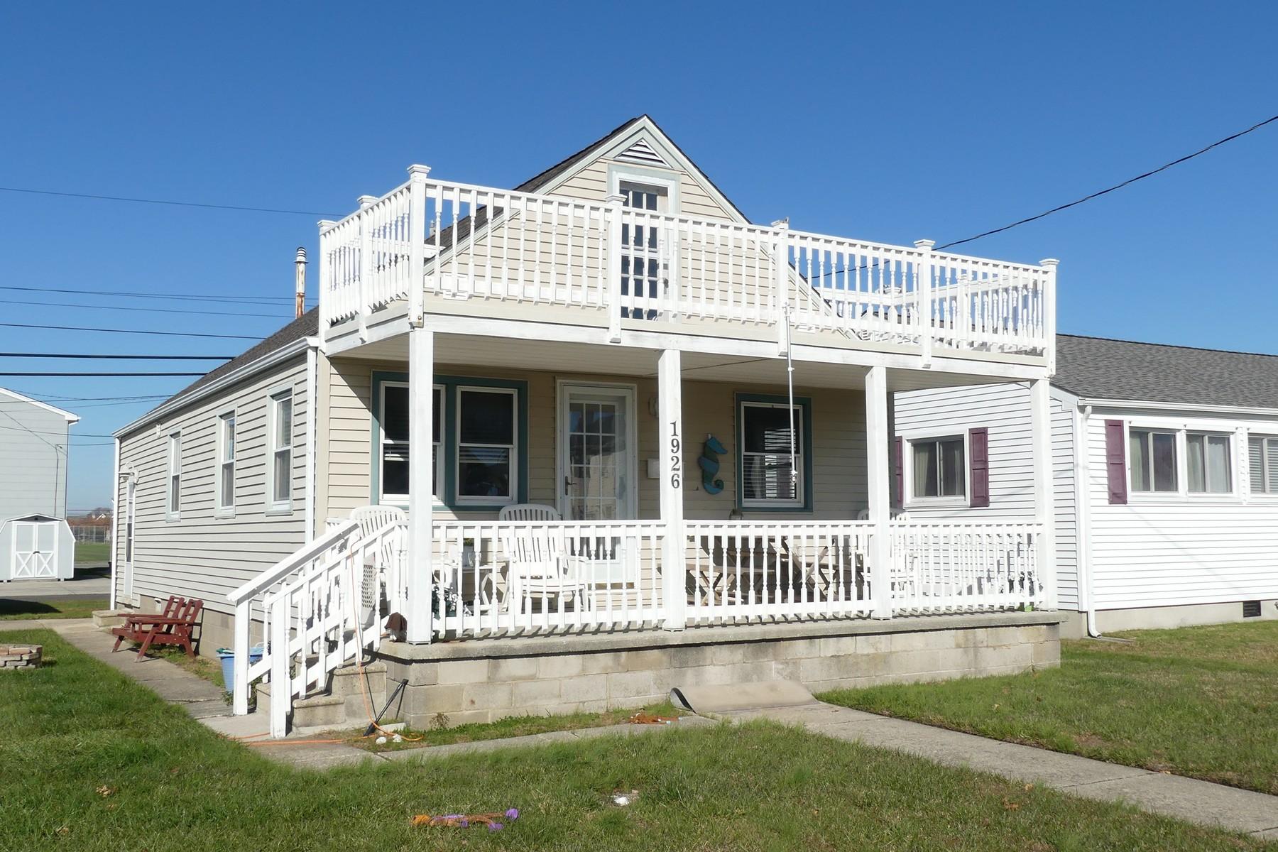 独户住宅 为 销售 在 Single Family Home 1926 West Avenue, Ocean City, 新泽西州, NJ 美国