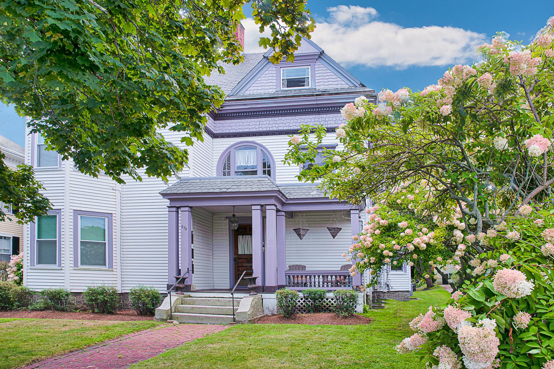 Condominiums por un Venta en Charming Victorian 270 Lafayette Street Unit #3 Salem, Massachusetts 01970 Estados Unidos