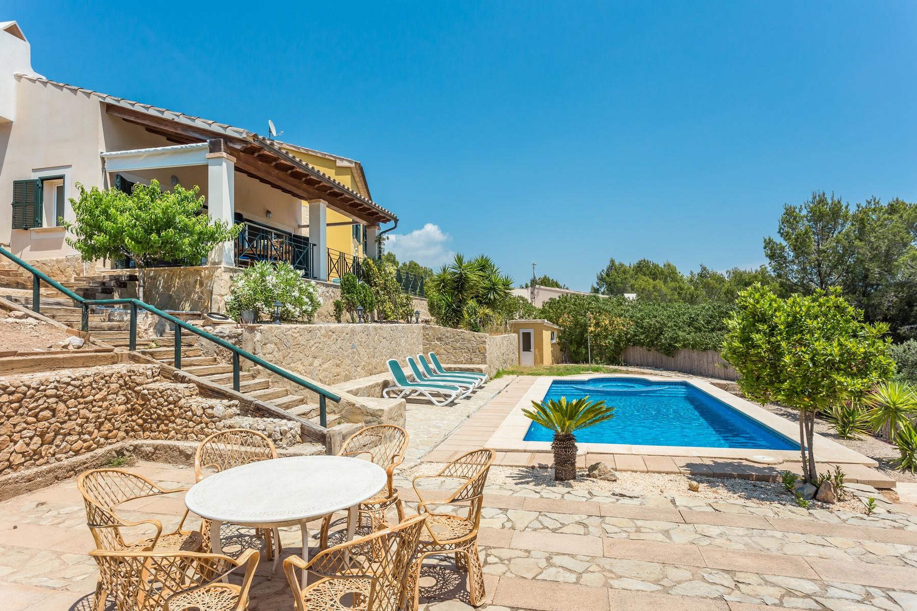 Single Family Home for Sale at Villa with panoramic views in Costa de la Calma Costa De La Calma, Mallorca, Spain