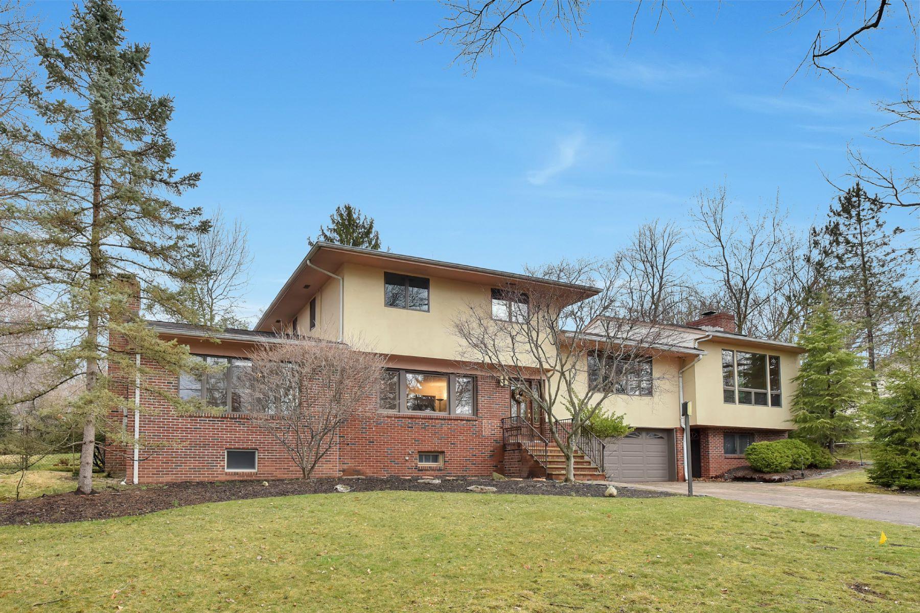 Частный односемейный дом для того Продажа на Expansive Contemporary 30 Forest Ave Old Tappan, Нью-Джерси 07675 Соединенные Штаты