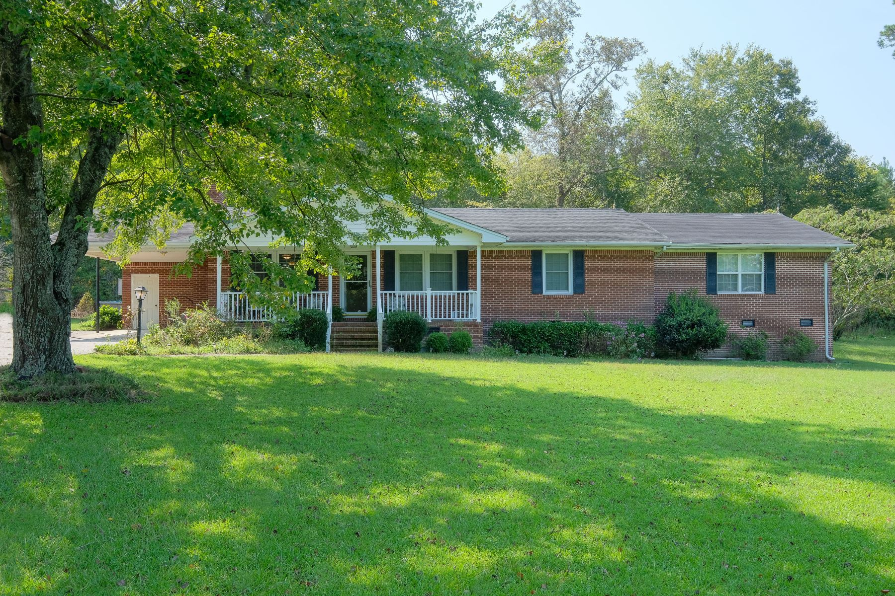 Single Family Homes for Sale at CHARMING BRICK RANCH 2128 N Highway 17 Merry Hill, North Carolina 27957 United States