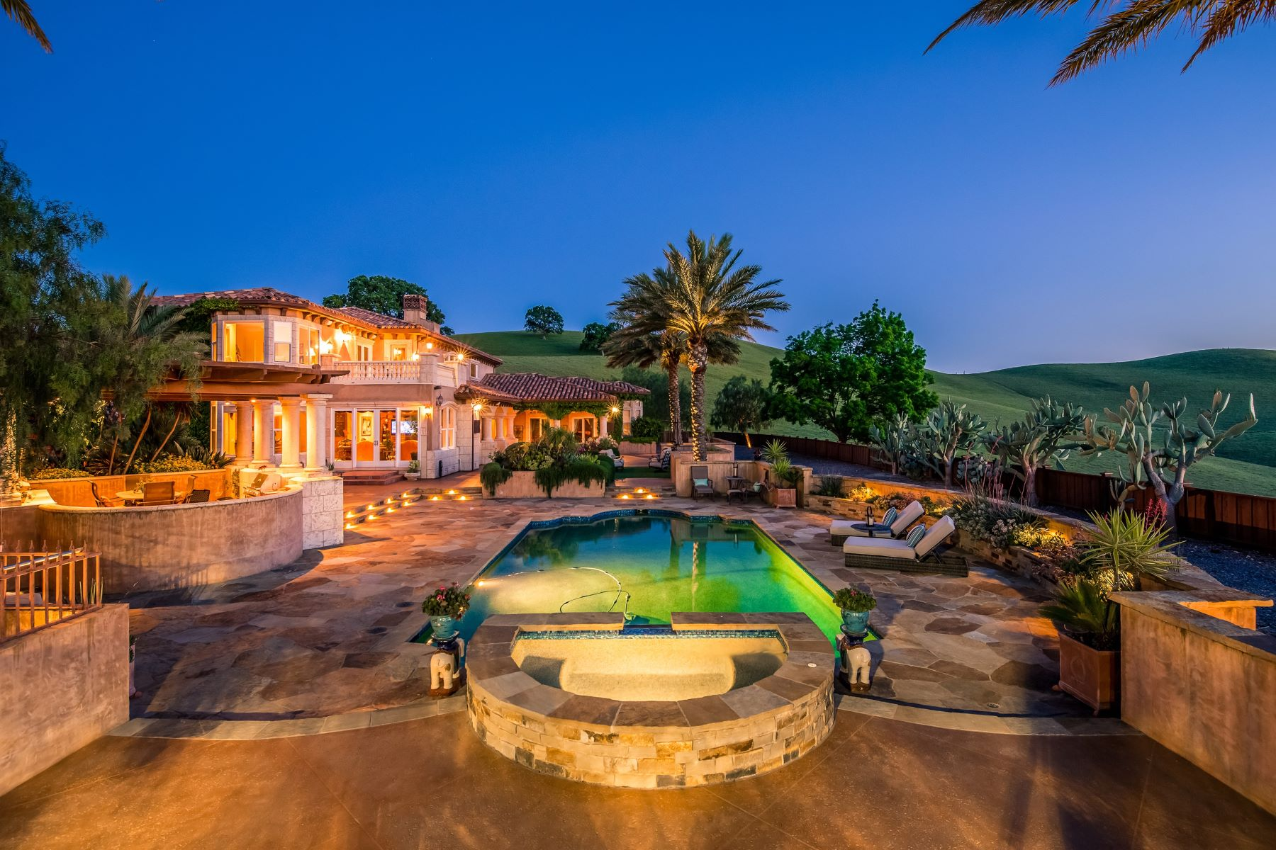 Single Family Homes for Sale at Your Own Personal Paradise 7210 Johnston Road Danville, California 94588 United States