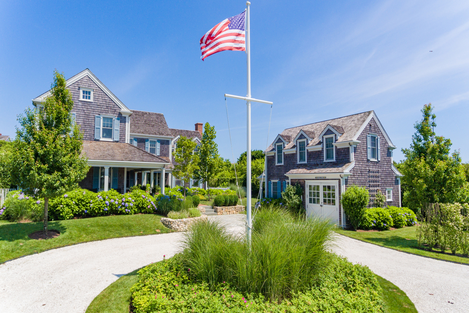 Single Family Home for Active at Private Cliff Road Estate 4 John Adams Lane (97 Cliff Road) Nantucket, Massachusetts 02554 United States