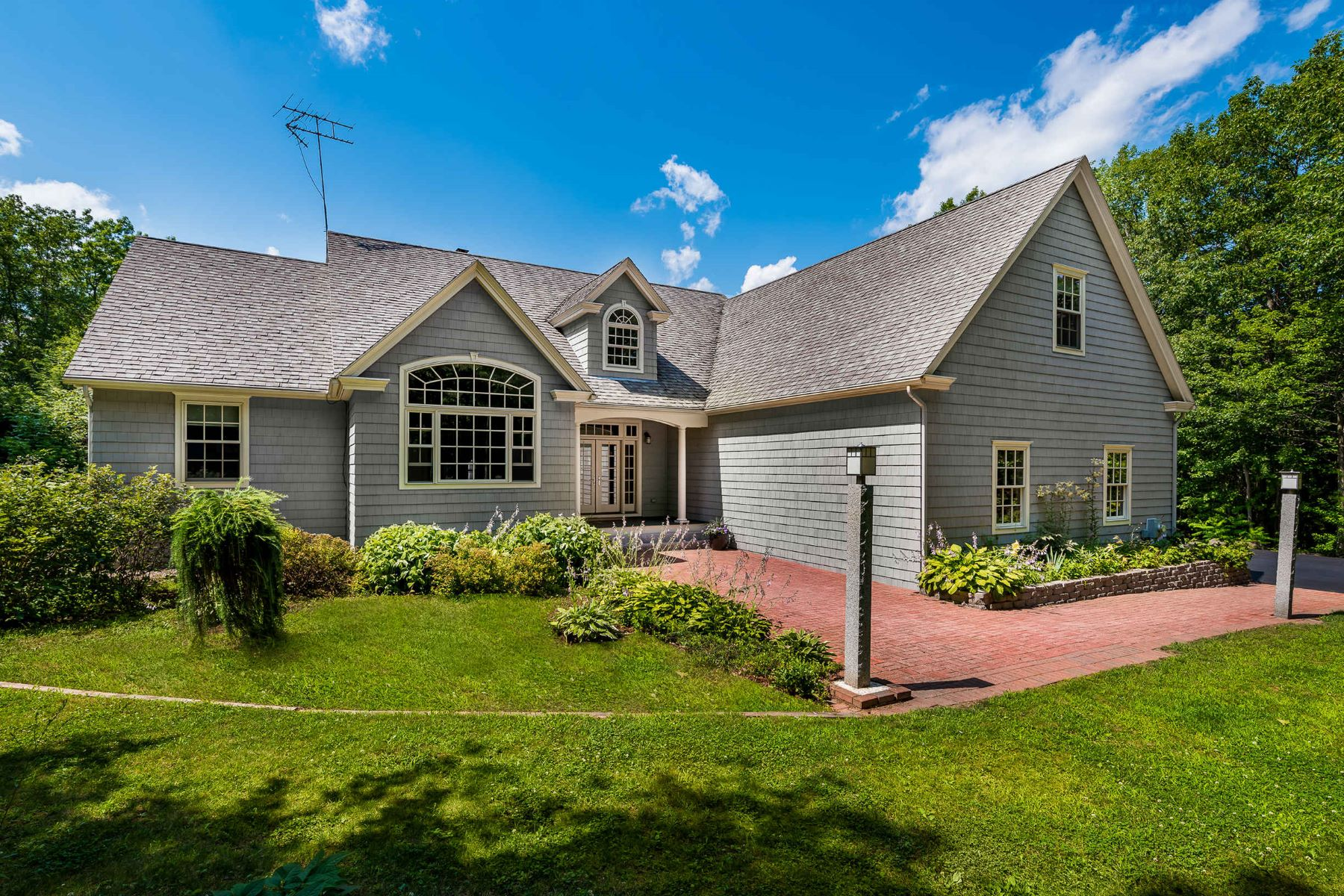 Single Family Homes for Sale at Masterfully Crafted 4 Bedroom Contemporary in Waterboro 79 Star Hill Road, Waterboro, Maine 04087 United States