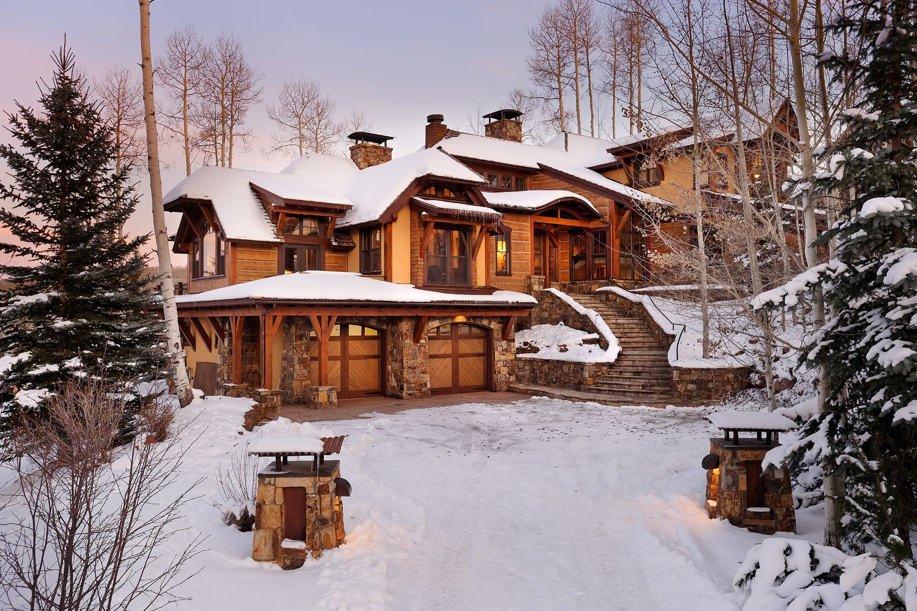 Single Family Homes for Active at Everything at Your Ski Tips 1000 Two Creeks Drive Snowmass Village, Colorado 81615 United States