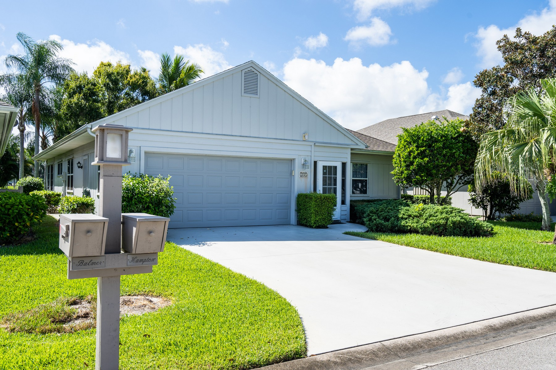 Single Family Homes for Sale at Lakefront Home in Garden Grove 251 Garden Grove Parkway Vero Beach, Florida 32962 United States