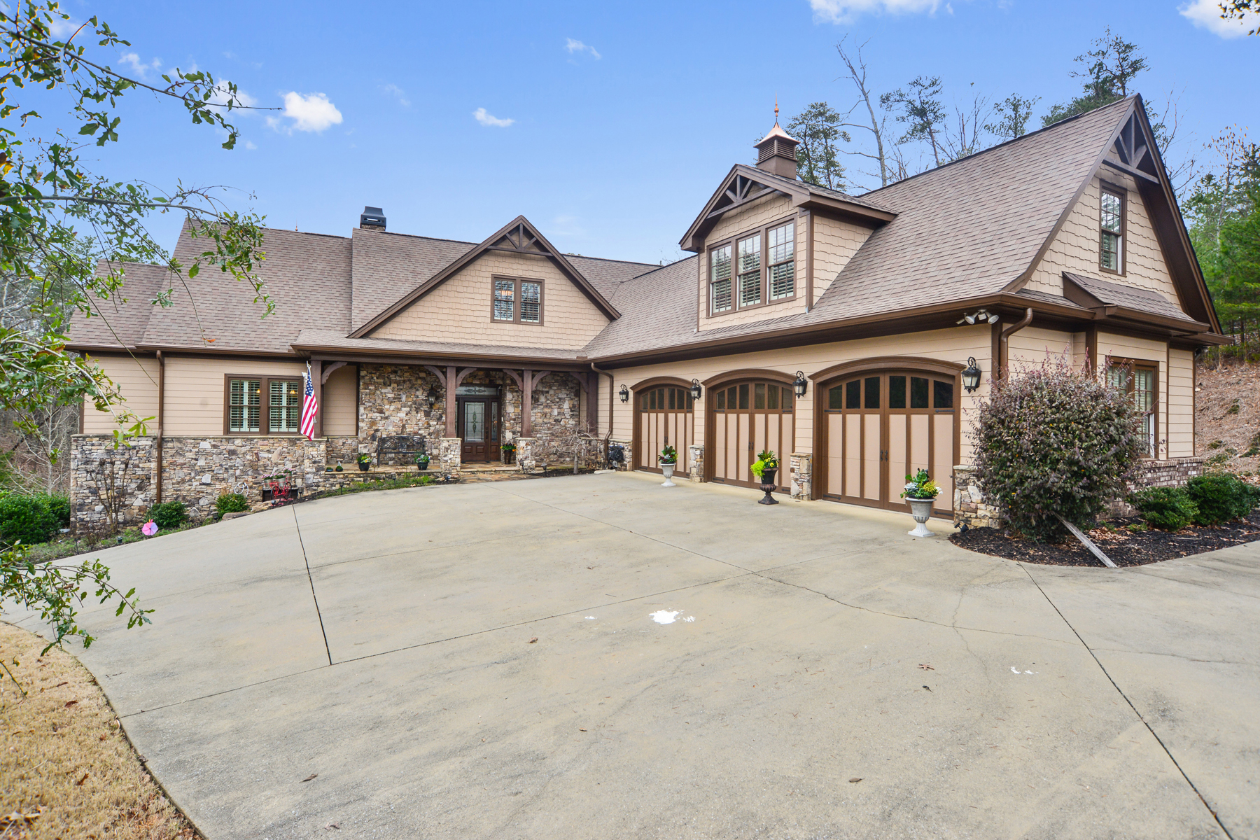 Single Family Home for Sale at Unparalleled Mountaintop Retreat Home 56 Somerset Ln Cartersville, Georgia 30121 United States