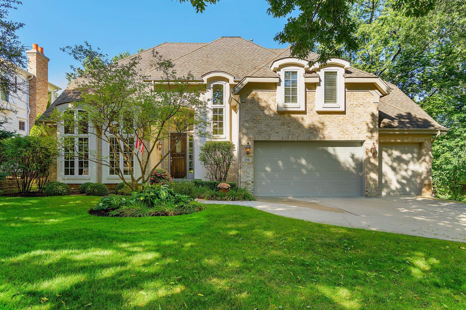 Einfamilienhaus für Verkauf beim 716 S Bruner St Hinsdale, Illinois, 60521 Vereinigte Staaten