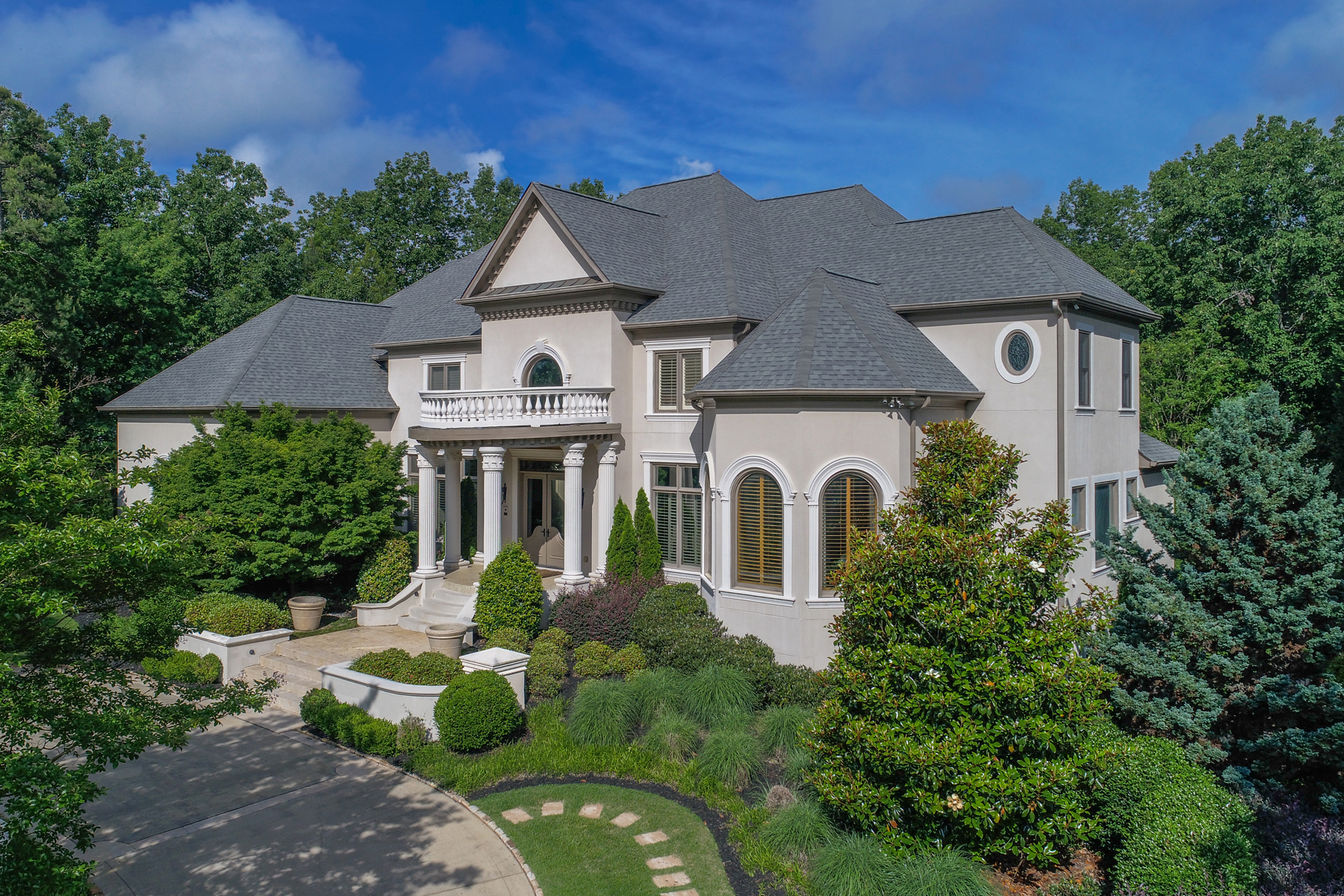 Single Family Home for Sale at Extraordinary Updated Country Club of the South Family Estate Home 8885 Old Southwick Pass Alpharetta, Georgia 30022 United States