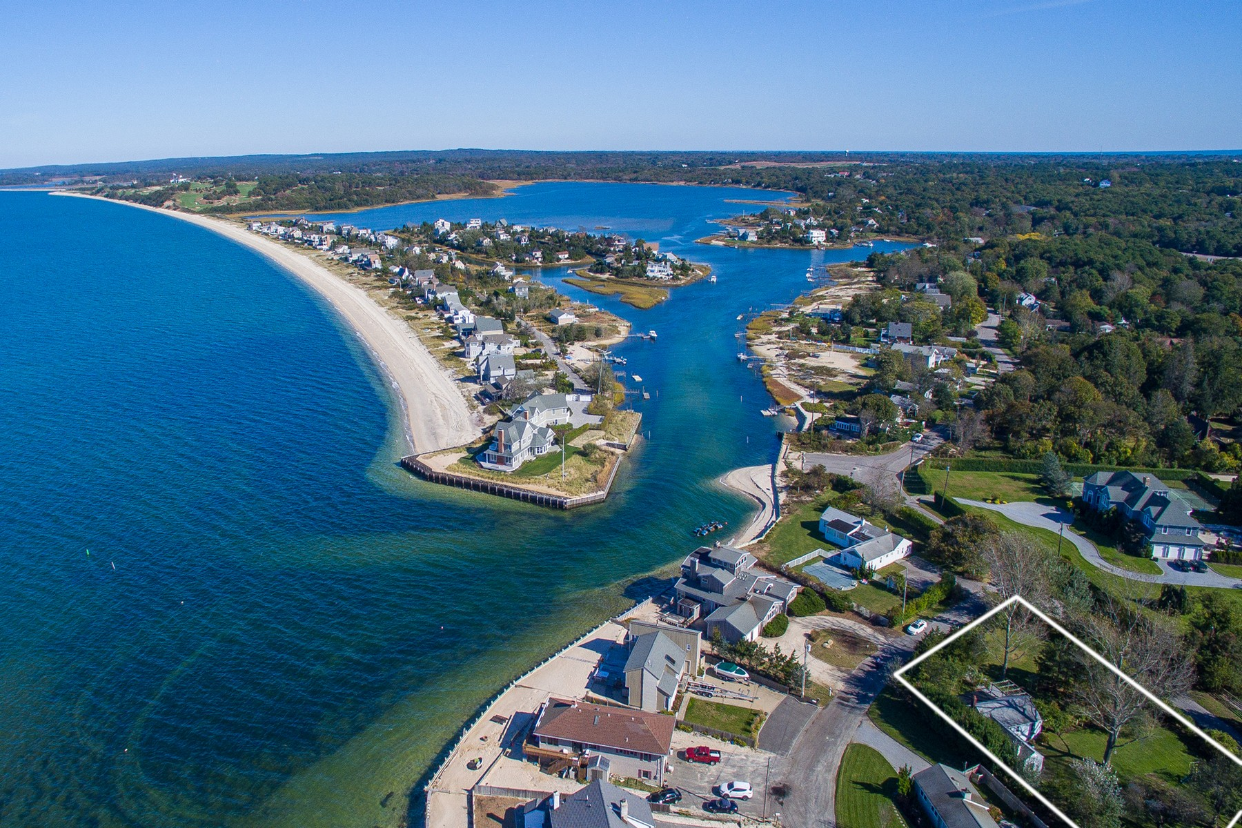 Single Family Home for Active at 1 And 3 Peconic Cres , Hampton Bays, NY 11946 1 And 3 Peconic Cres Hampton Bays, New York 11946 United States
