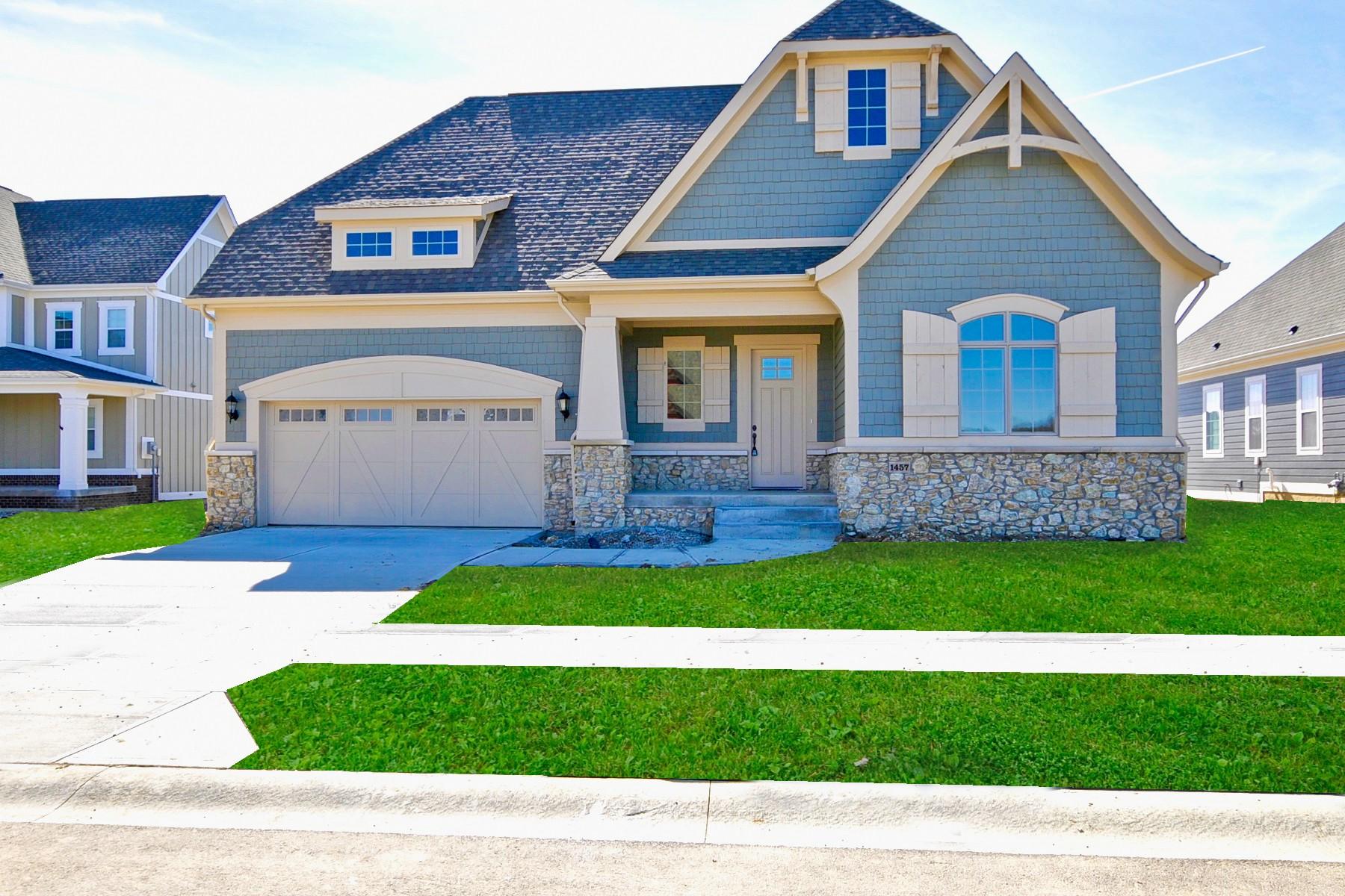 Частный односемейный дом для того Продажа на The Belcrest Model Ready for You 1457 Avondale Drive Westfield, Индиана, 46074 Соединенные Штаты