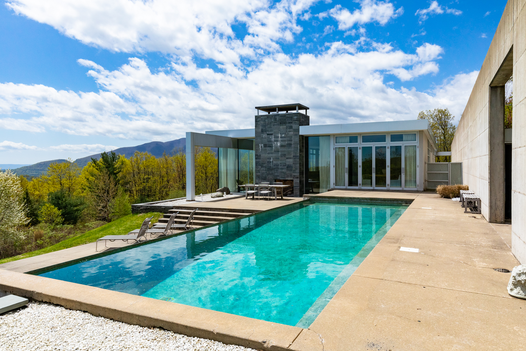 Single Family Homes for Sale at Sophisticated Modern Mountain House 202 Dancing Rock Rd Shokan, New York 12481 United States