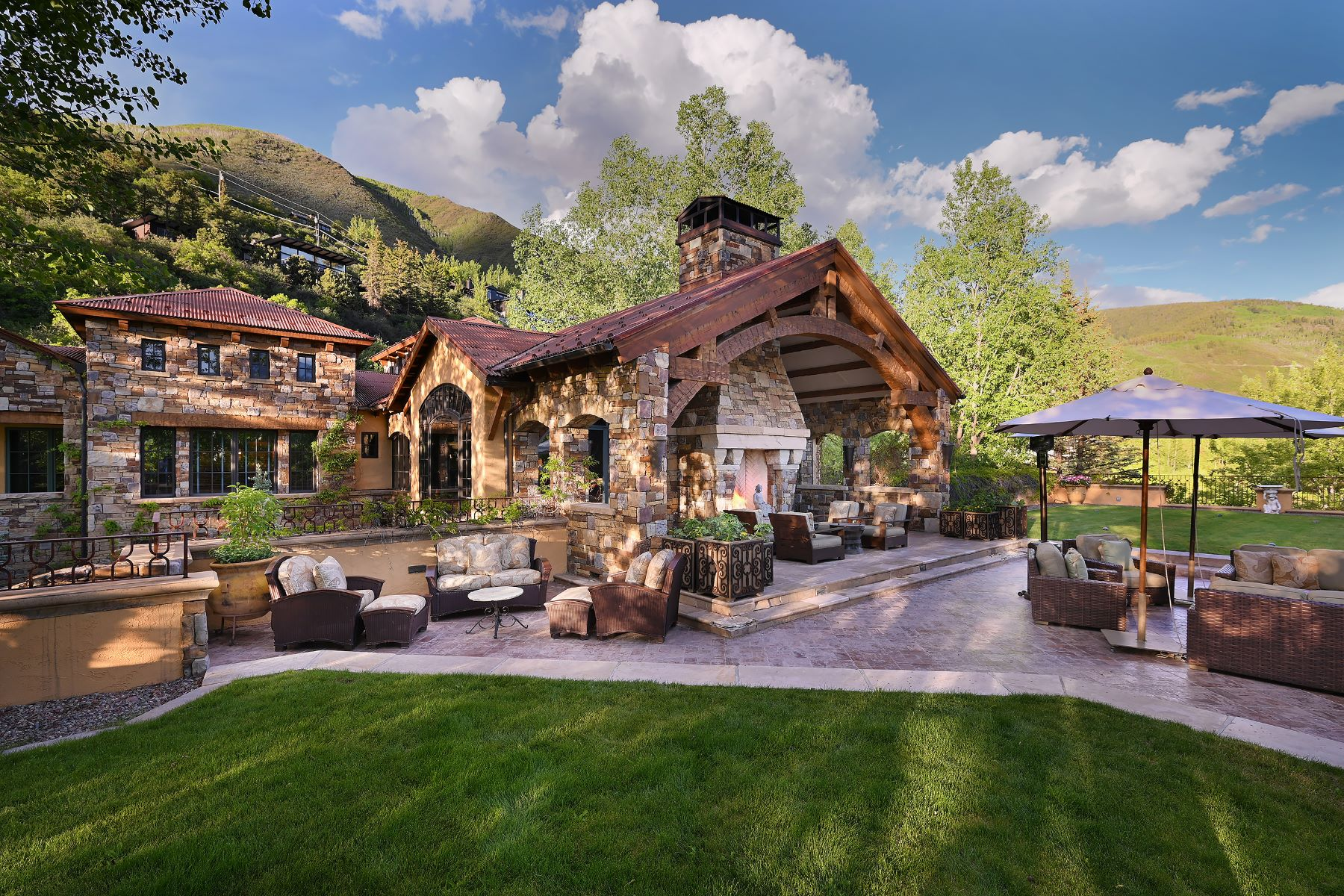 Single Family Homes for Sale at Remarkable Red Mountain Estate 835 Red Mountain Road Aspen, Colorado 81611 United States