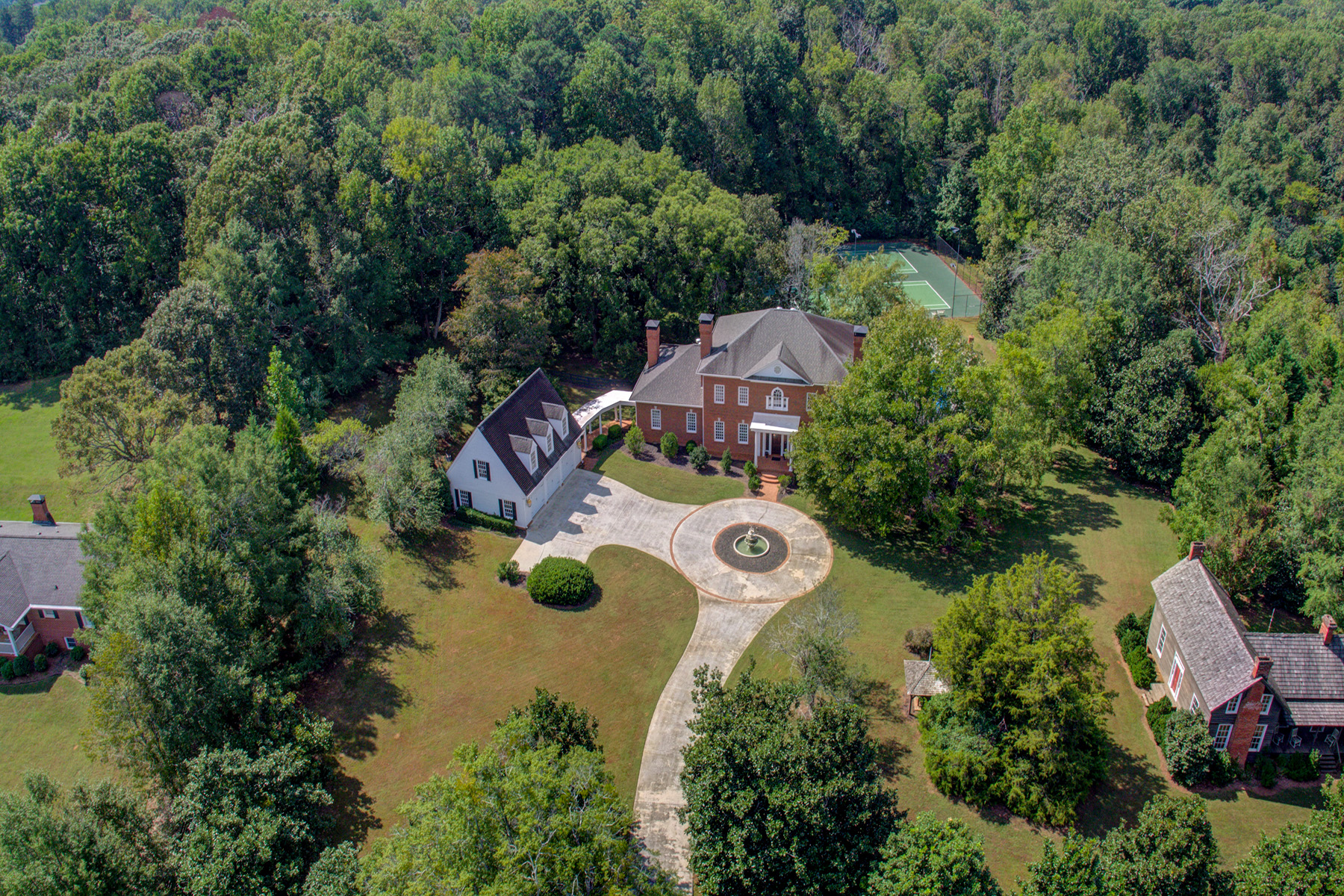 Single Family Homes for Sale at Historical Gated Oasis on 4.72 Acres - Bring Your Horses - Beautiful Estate 1650 Sever Road, Lawrenceville, Georgia 30043 United States