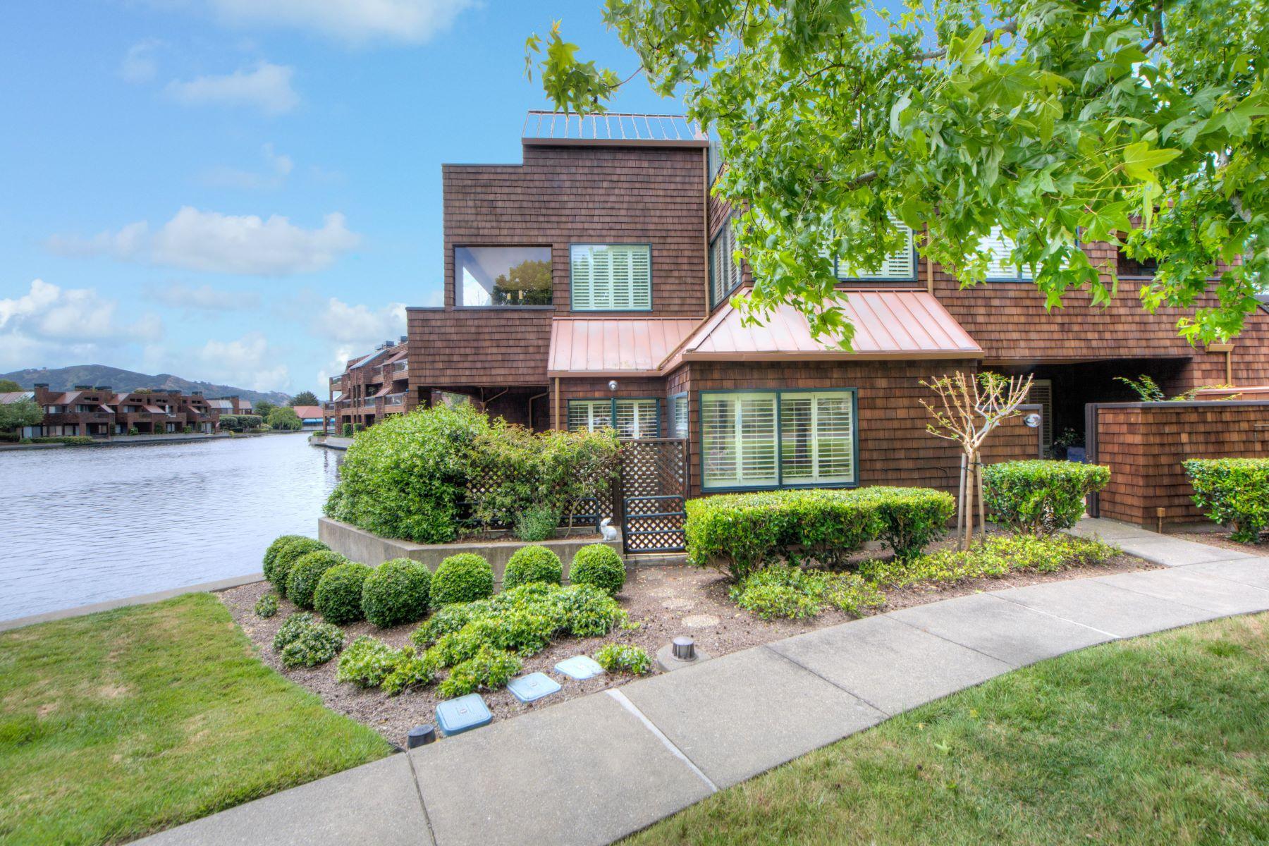 Single Family Home for Sale at Simply Exquisite...Overlooking Point Tiburon Lagoon 18 Lagoon Vista Road Tiburon, California, 94920 United States