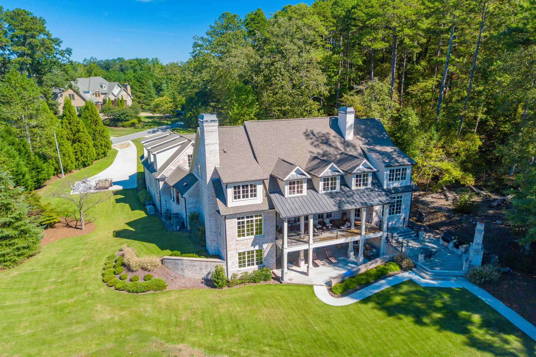 Single Family Homes for Sale at Spectacular Lake Home On Lanier's South End 4763 Propes Drive Oakwood, Georgia 30566 United States