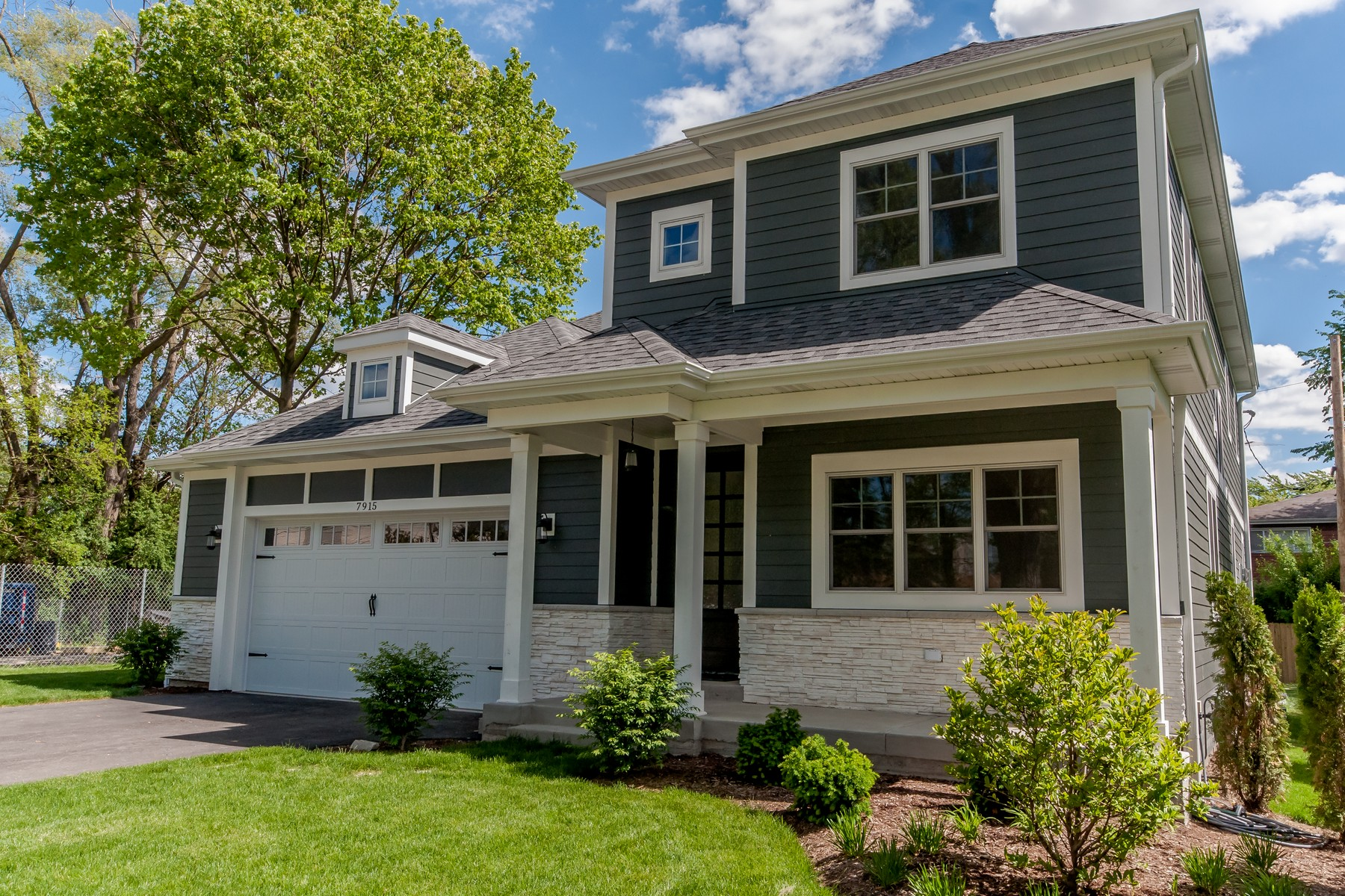 Single Family Home for Sale at Stunning New Construction 7915 Foster Street Morton Grove, Illinois, 60053 United States