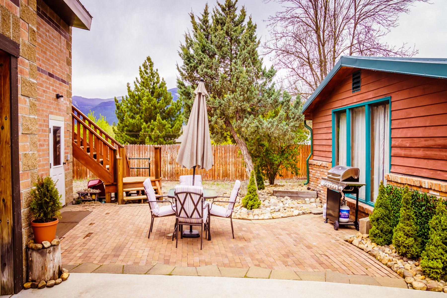 Single Family Homes for Sale at Stevensville Brick Home 431 Riverside Avenue Stevensville, Montana 59870 United States