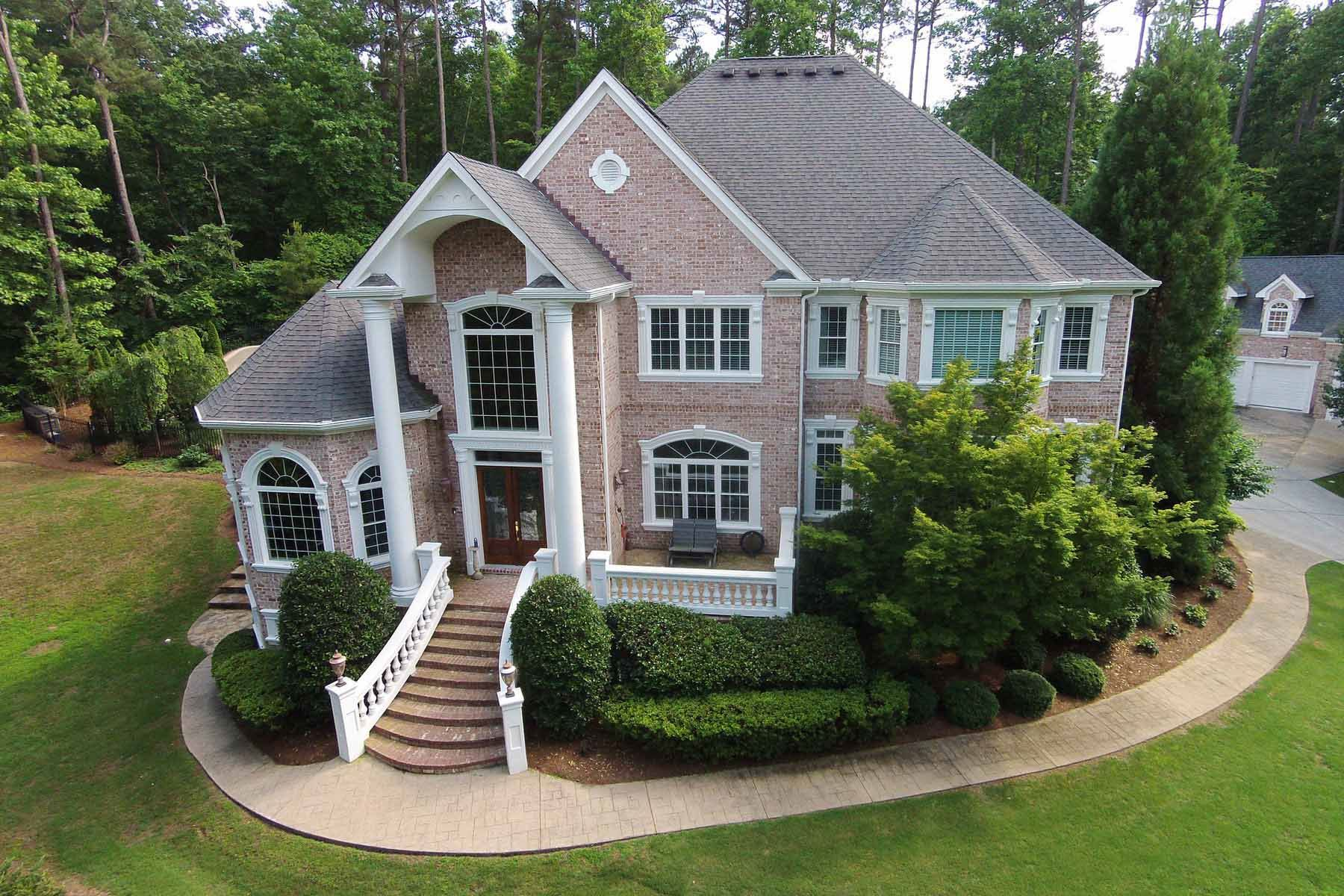 Single Family Home for Sale at Executive Retreat with Amazing Pool, Seven Car Garage 440 Fawn Glen Drive Roswell, Georgia, 30075 United States