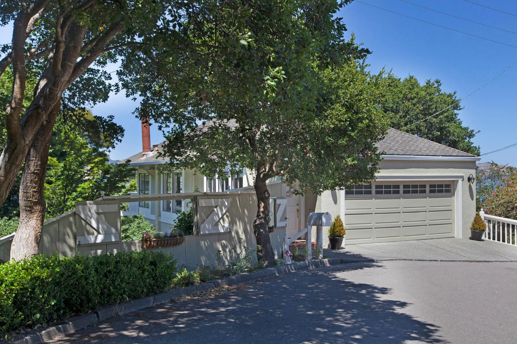 Single Family Homes for Sale at Romantic and Nautical in Sausalito 72 Marie Street Sausalito, California 94965 United States