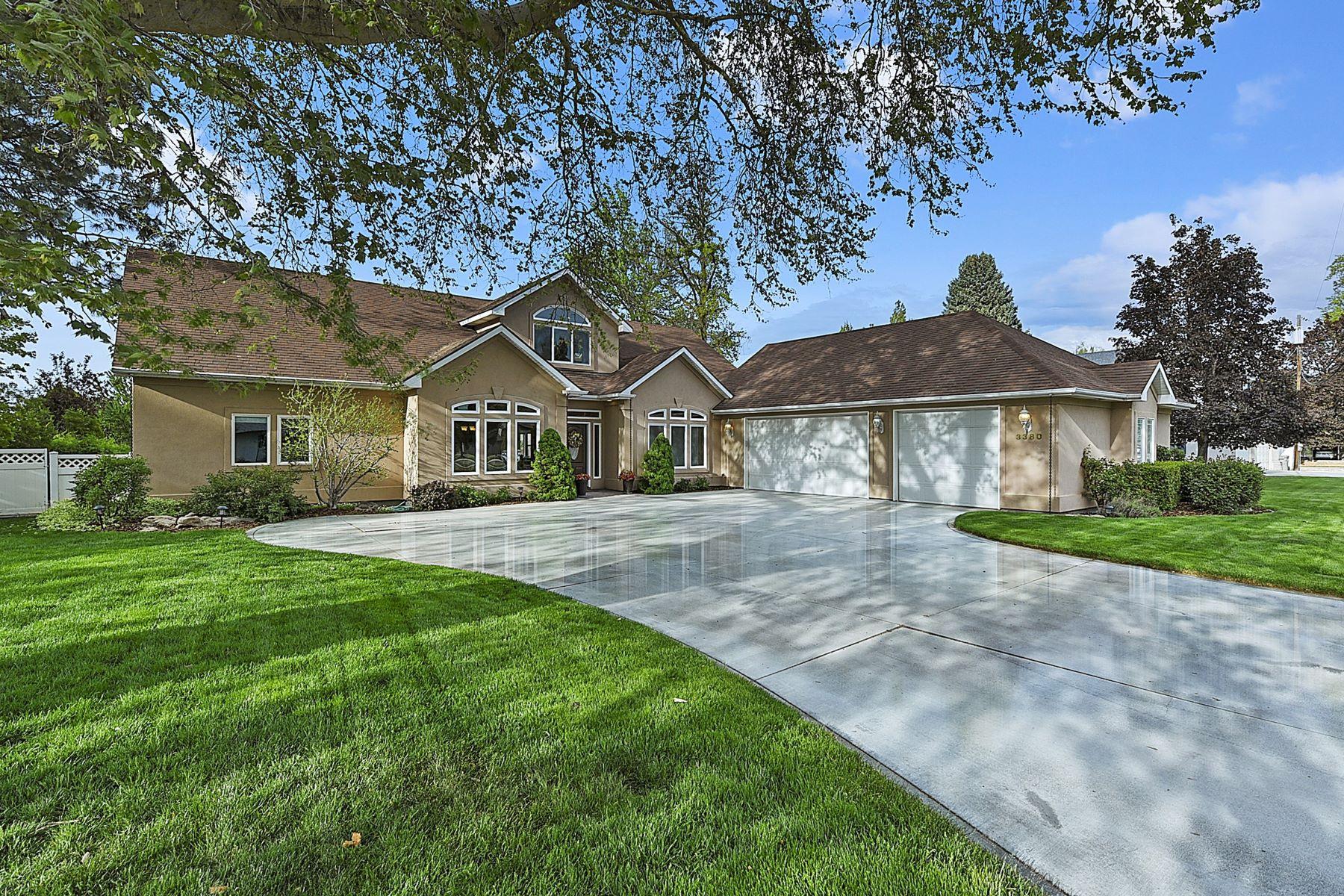Single Family Homes por un Venta en 3380 Mountain View Dr. Boise, Idaho 83704 Estados Unidos