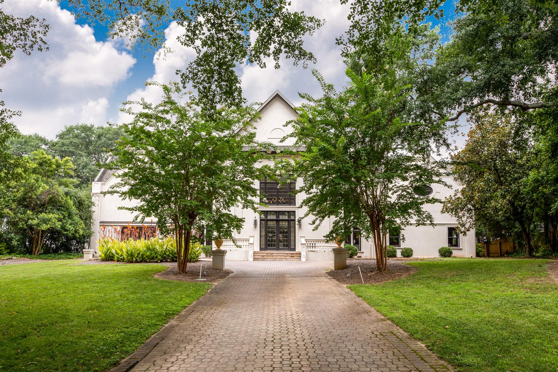Частный односемейный дом для того Продажа на Lender Owned Buckhead Estate 3206 Arden Road NW Atlanta, Джорджия 30305 Соединенные Штаты