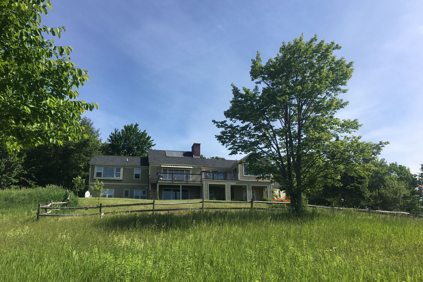 Single Family Homes for Sale at Long Range Southern Views 109 Bradley Hill Road Norwich, Vermont 05055 United States